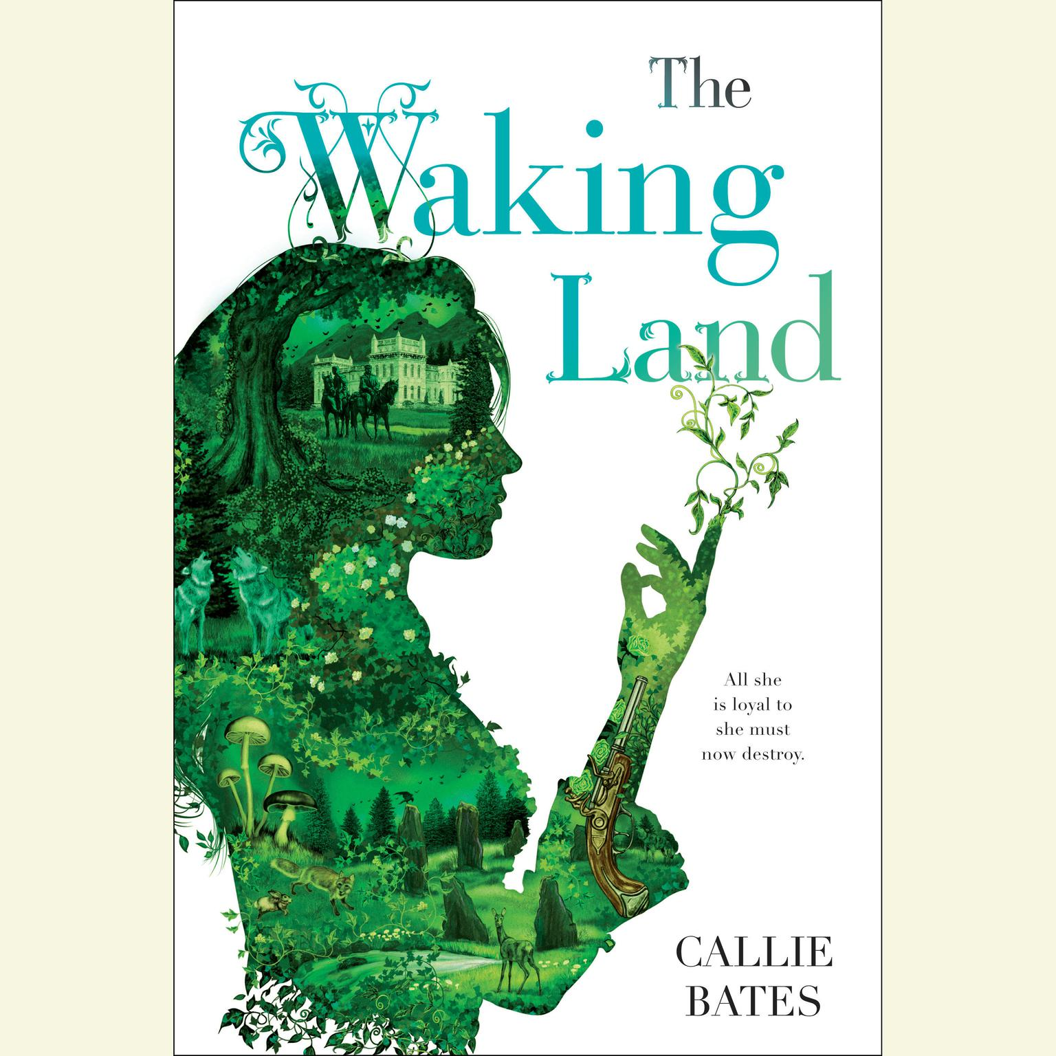 Printable The Waking Land Audiobook Cover Art