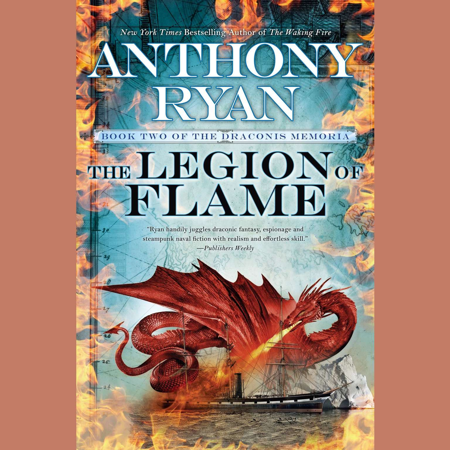 Printable The Legion of Flame Audiobook Cover Art