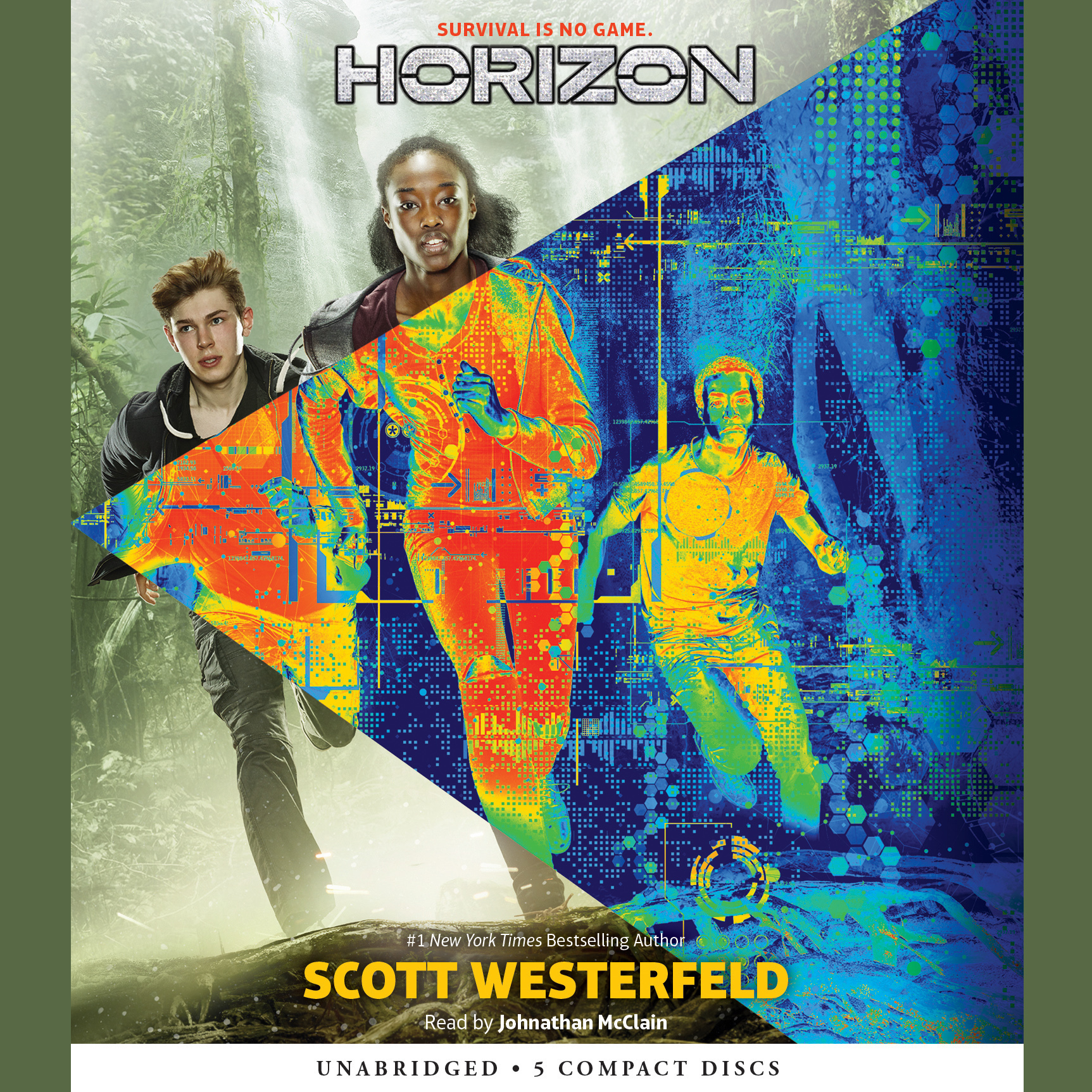 Printable Horizon Audiobook Cover Art