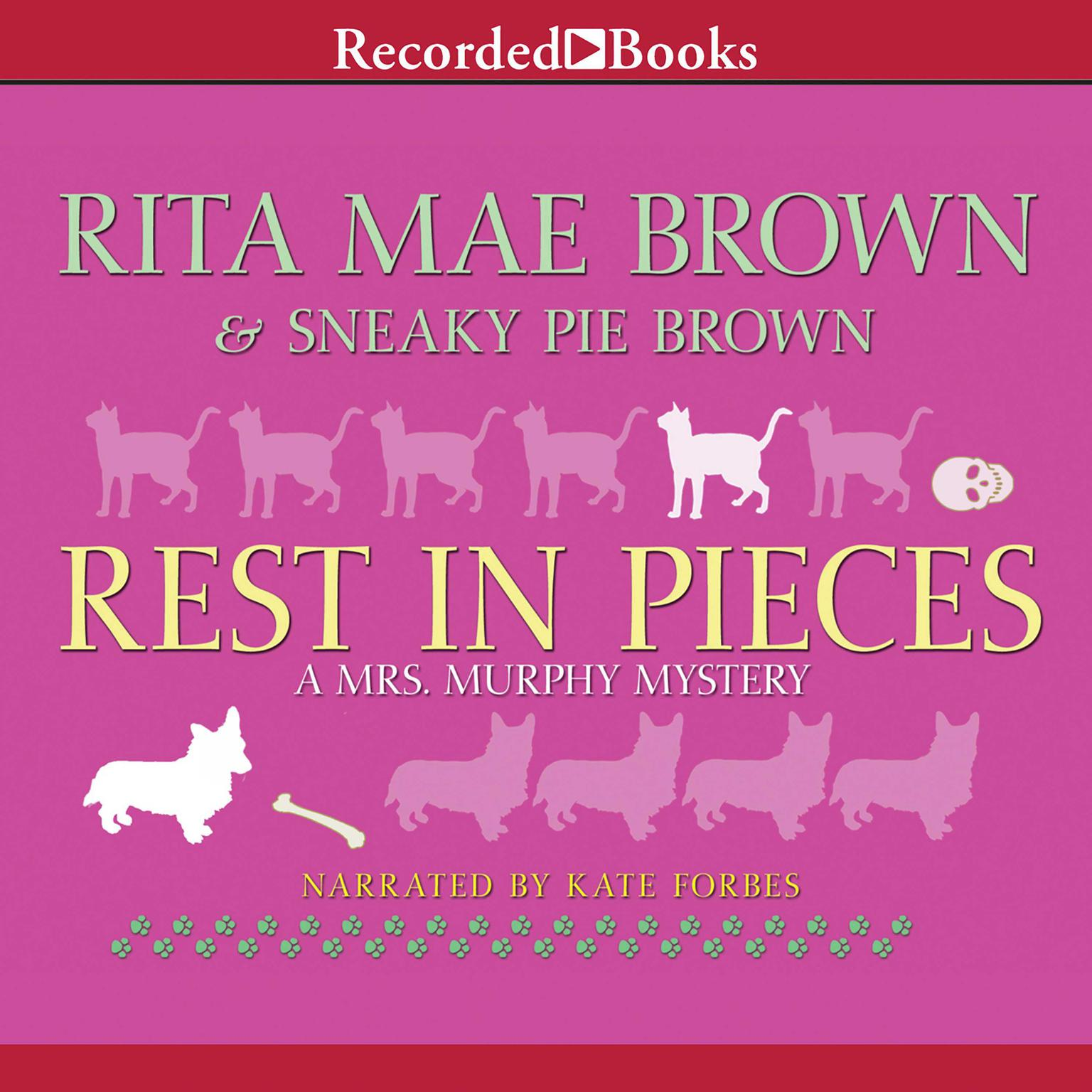 Printable Rest in Pieces Audiobook Cover Art