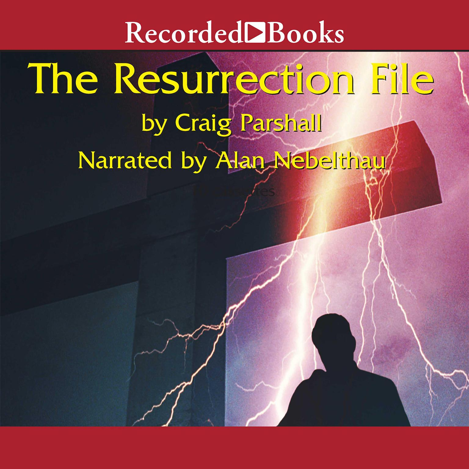 Printable The Resurrection File Audiobook Cover Art
