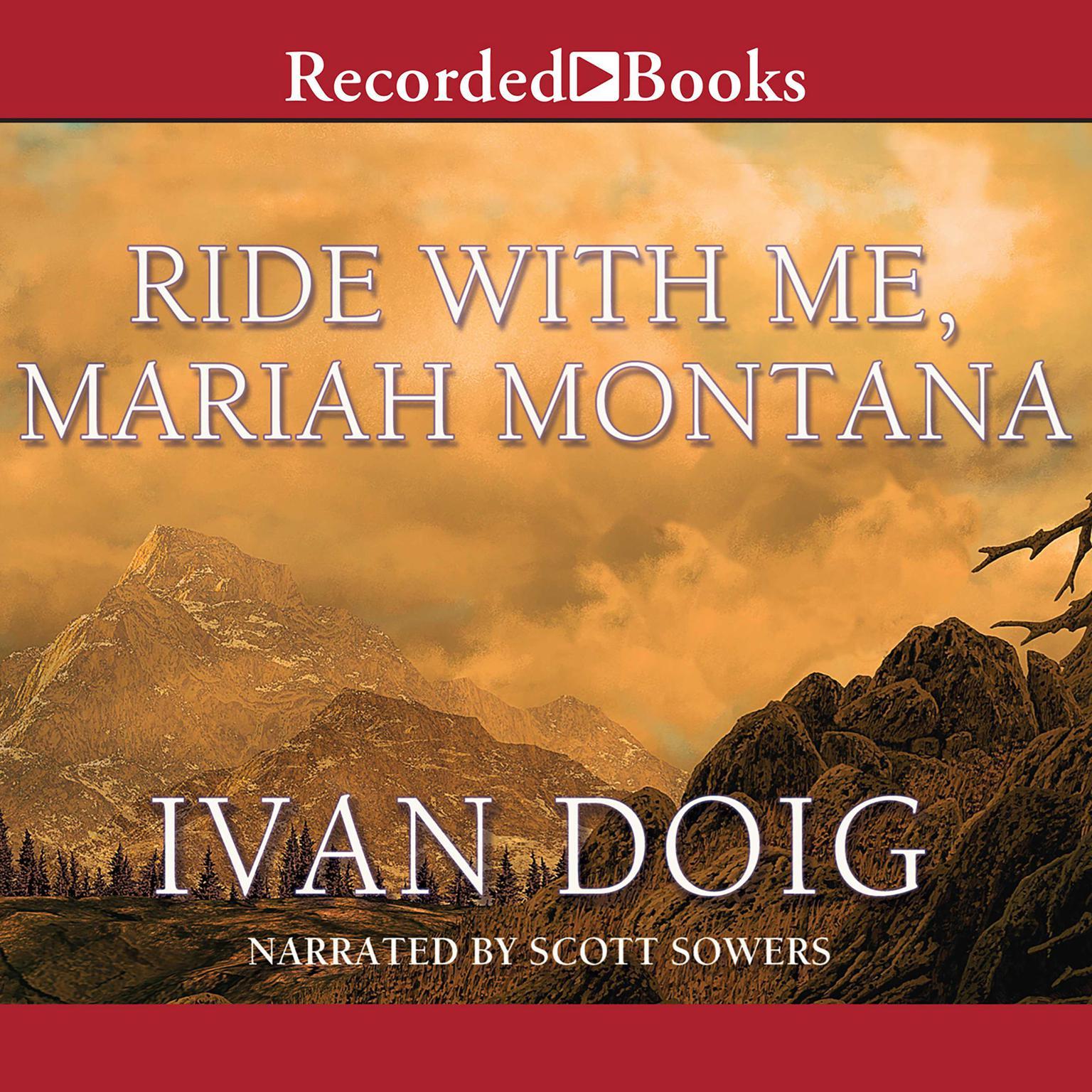 Printable Ride with Me Mariah Montana Audiobook Cover Art