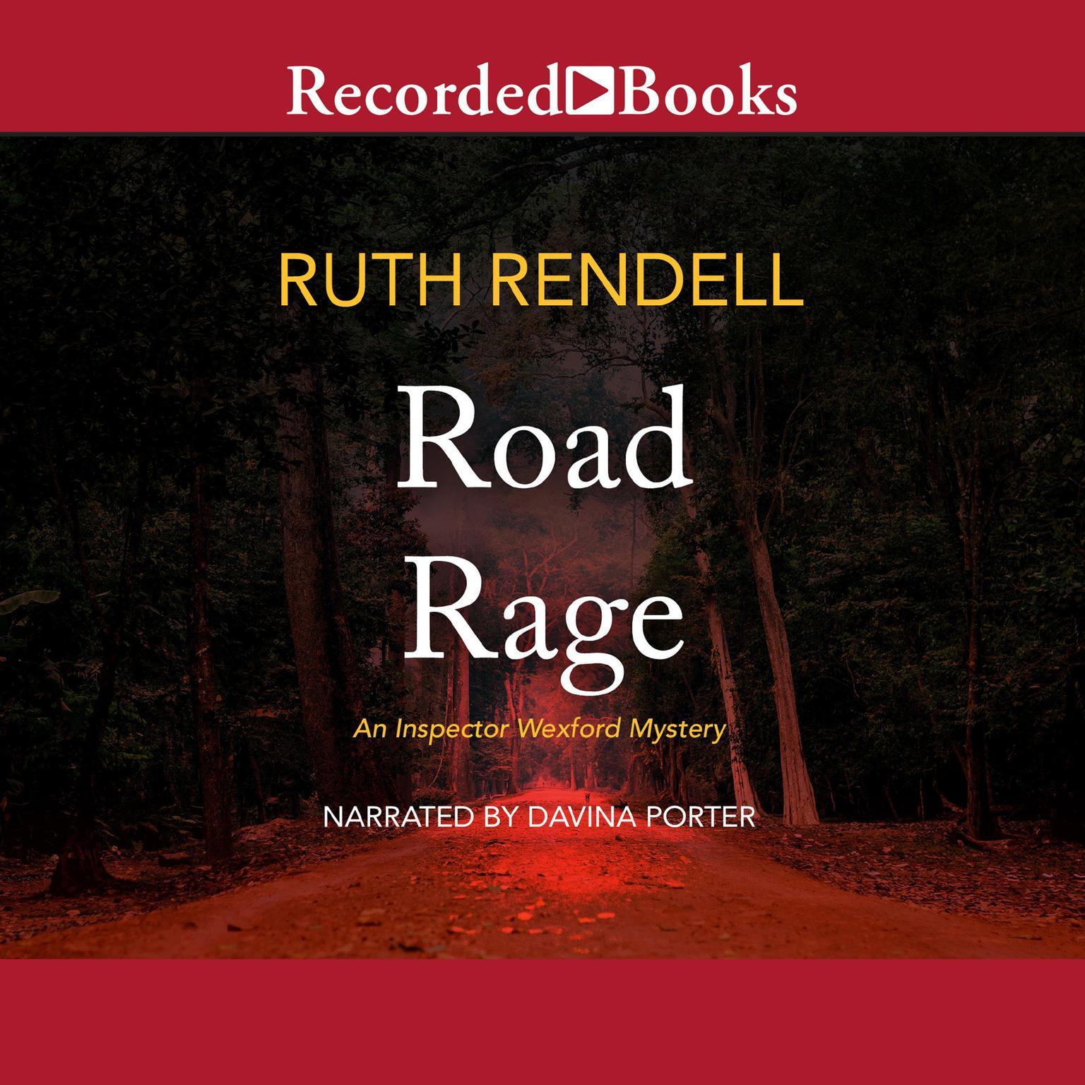 Printable Road Rage Audiobook Cover Art