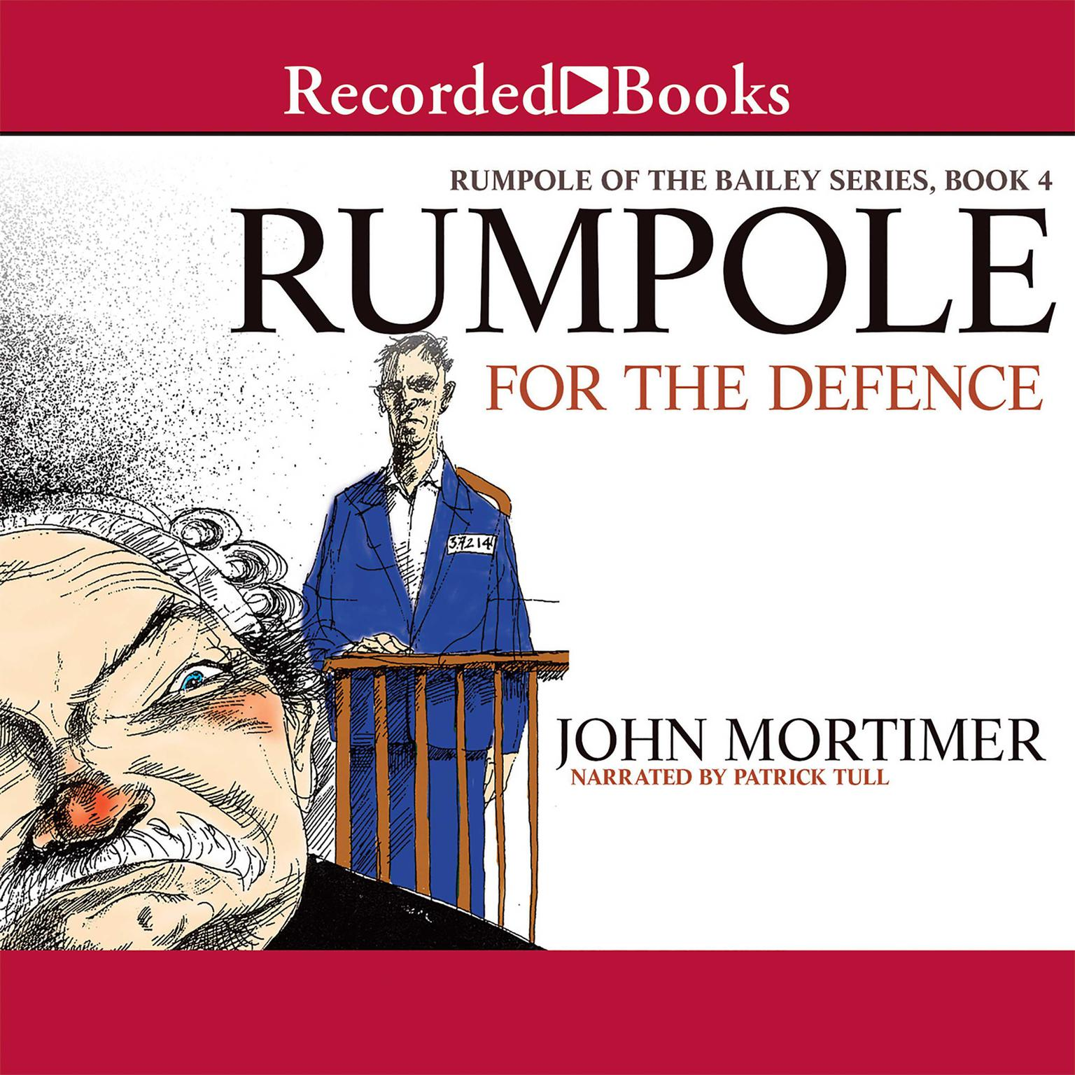 Printable Rumpole for the Defence Audiobook Cover Art