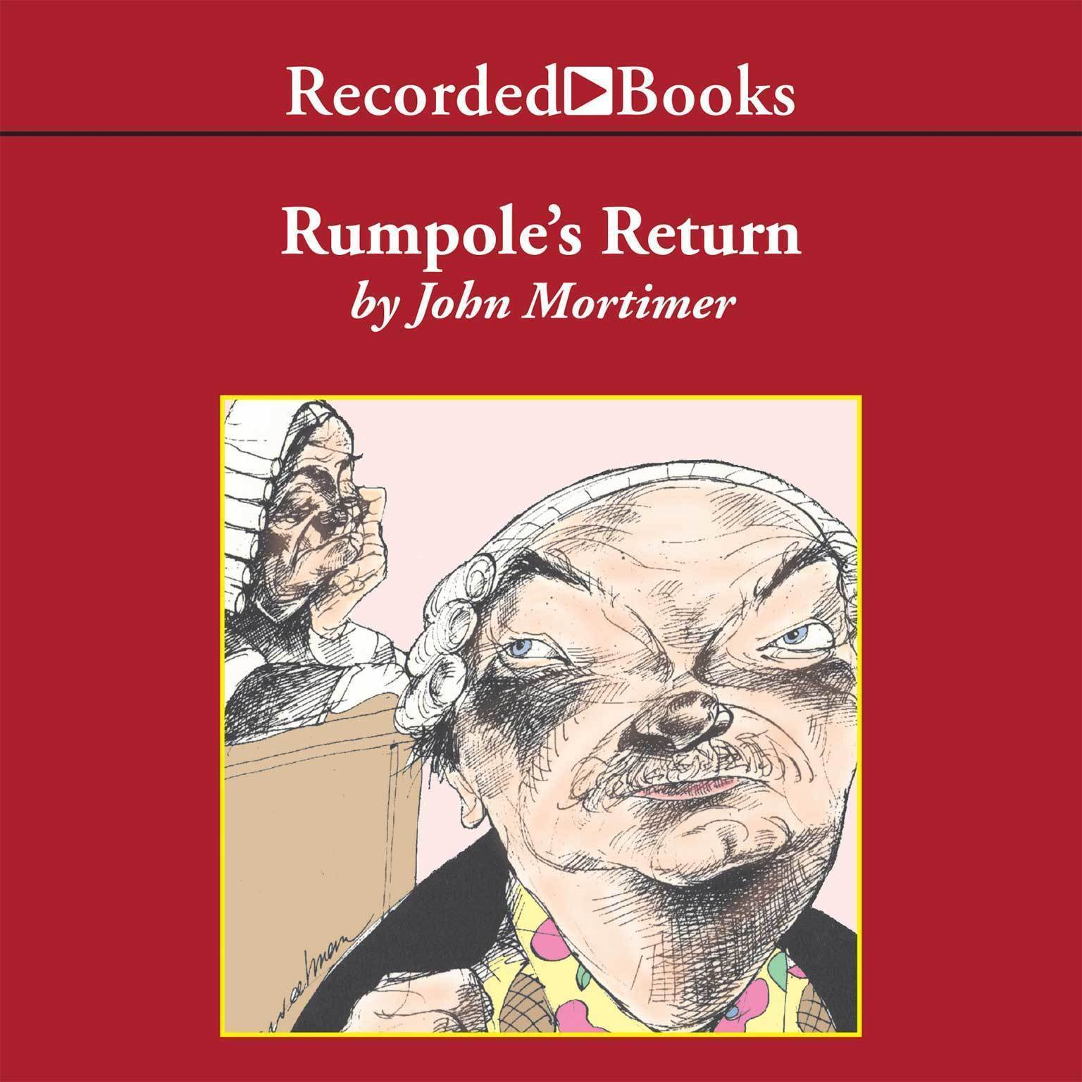 Printable Rumpole's Return Audiobook Cover Art