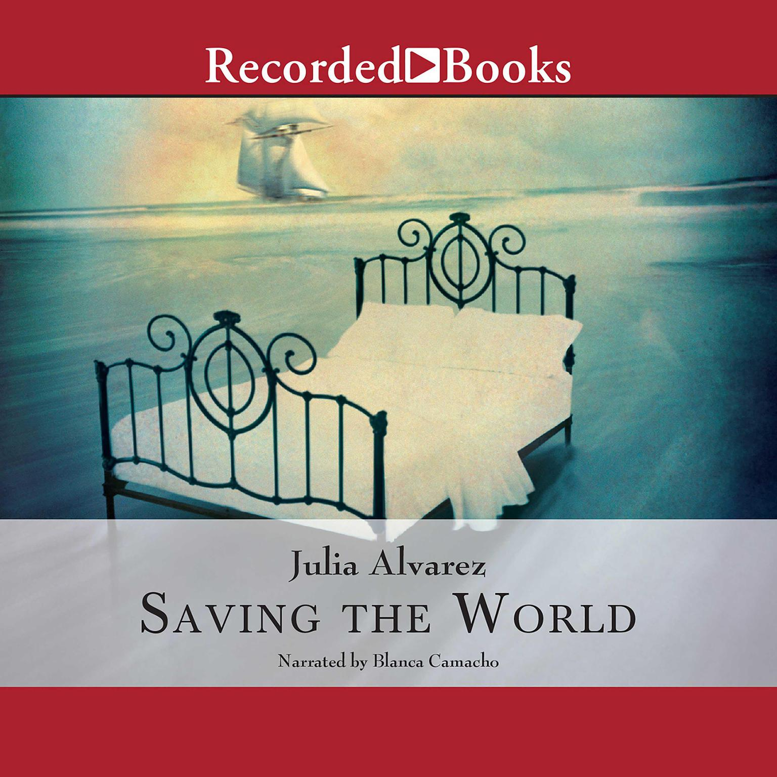 Printable Saving the World Audiobook Cover Art