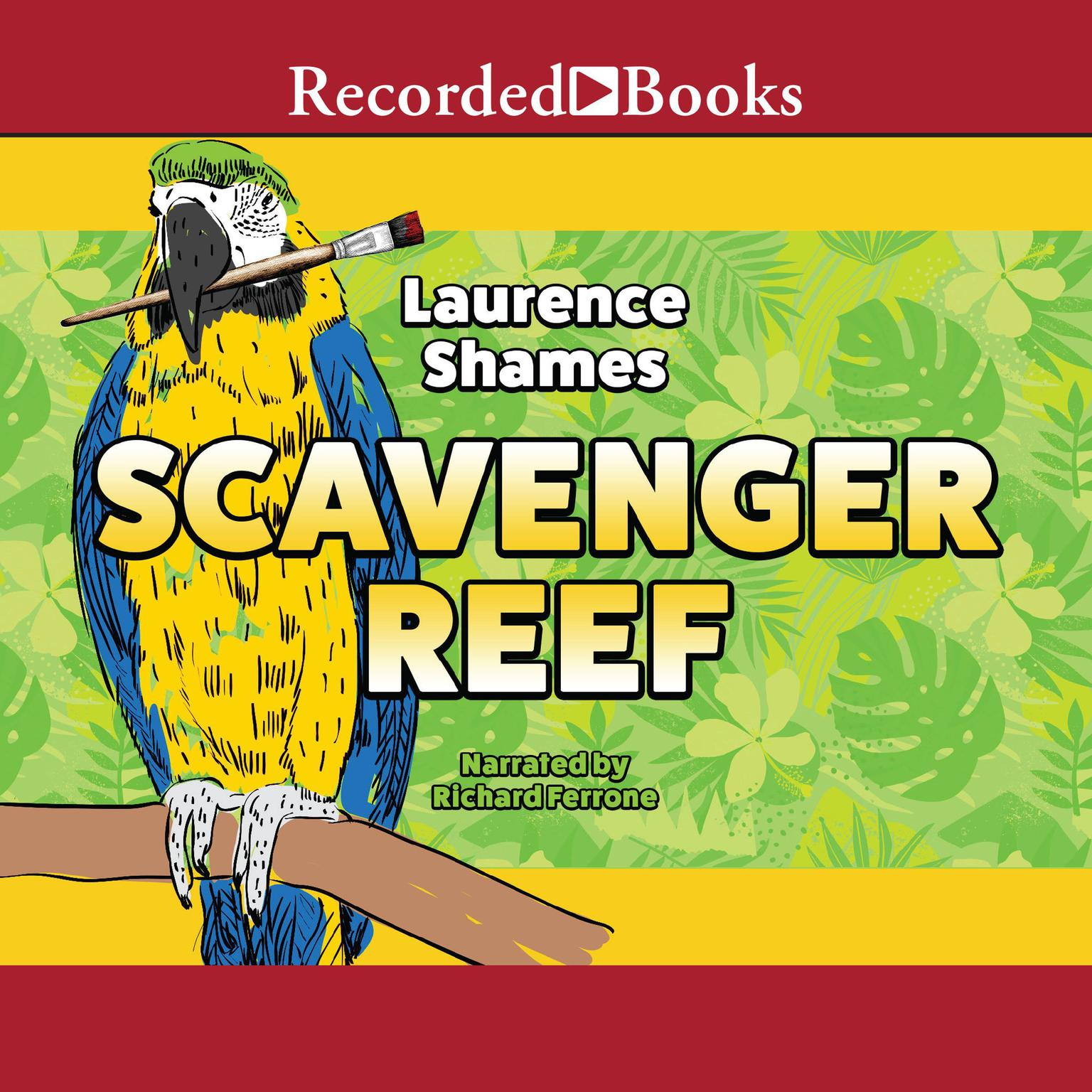 Printable Scavenger Reef Audiobook Cover Art