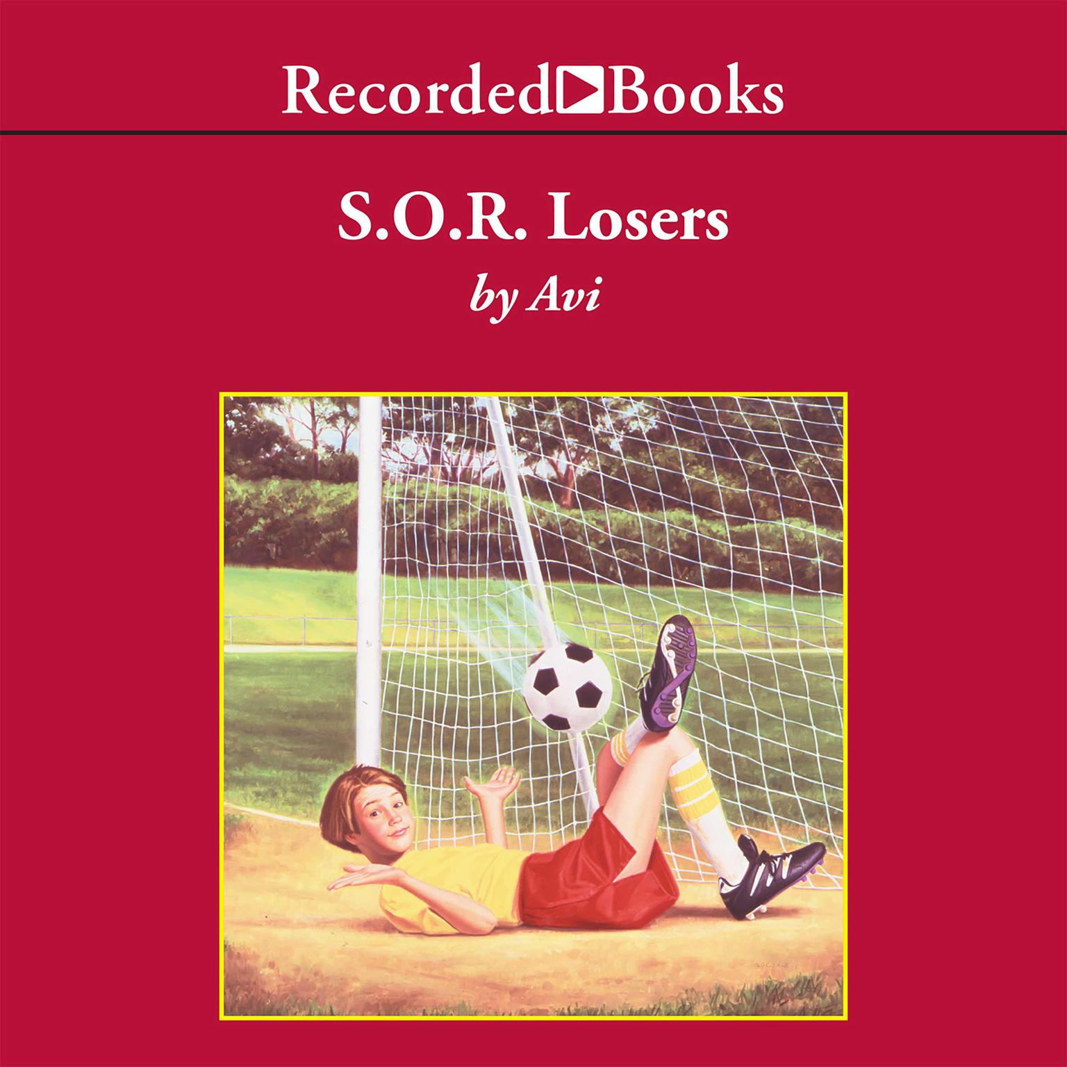 Printable S.O.R. Losers Audiobook Cover Art