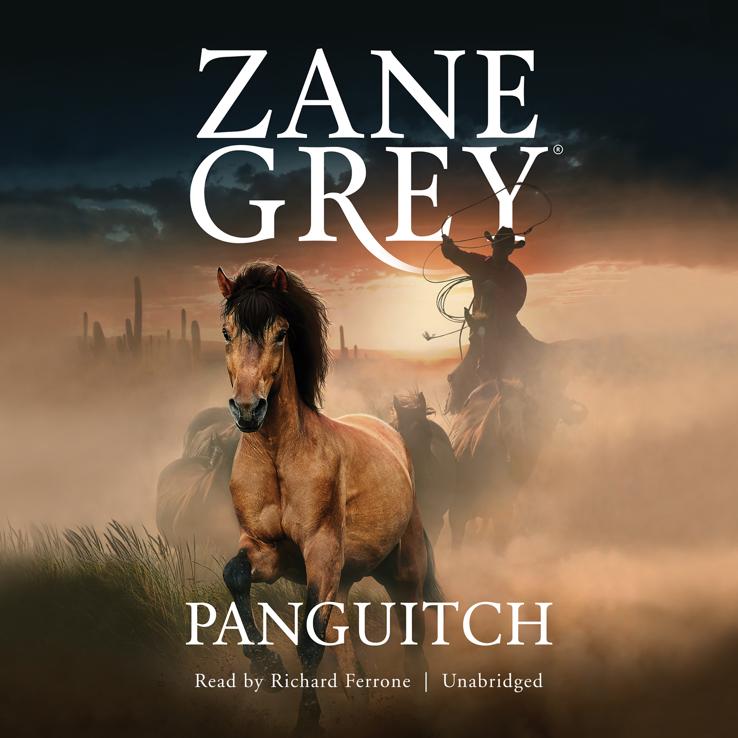 Printable Panguitch Audiobook Cover Art
