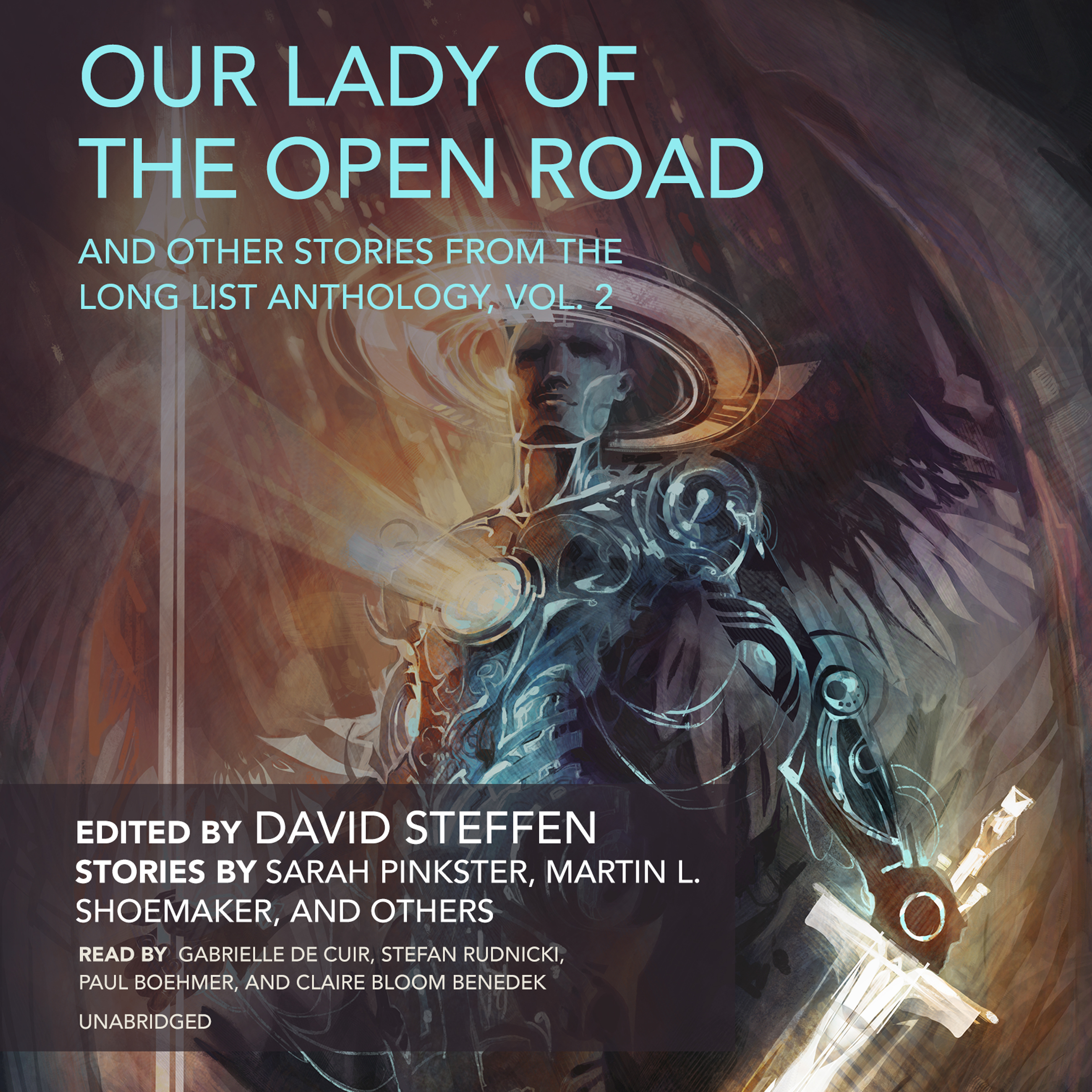 Printable Our Lady of the Open Road, and Other Stories from the Long List Anthology, Vol. 2 Audiobook Cover Art
