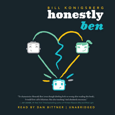 Honestly Ben Audiobook, by Bill Konigsberg