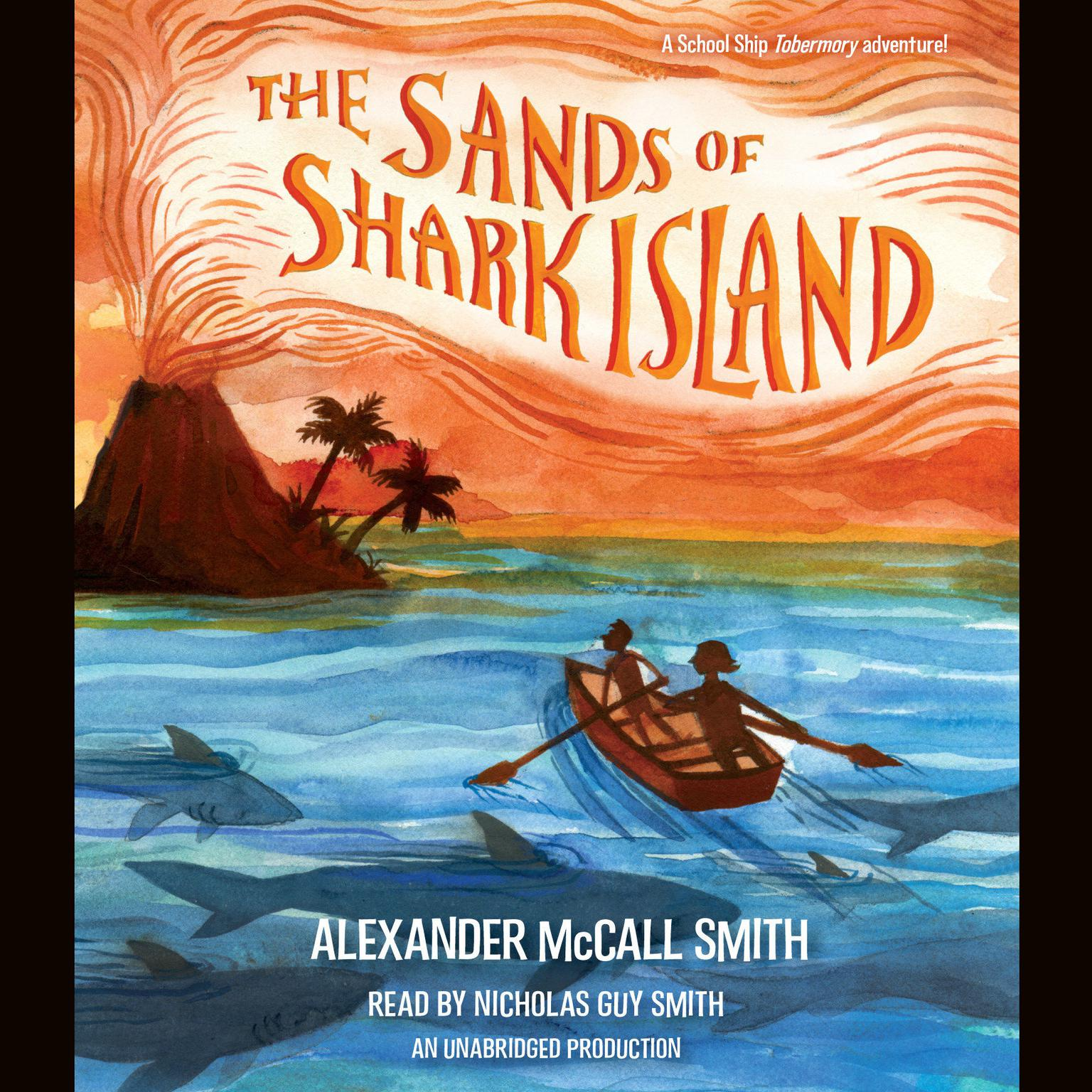 Printable The Sands of Shark Island Audiobook Cover Art