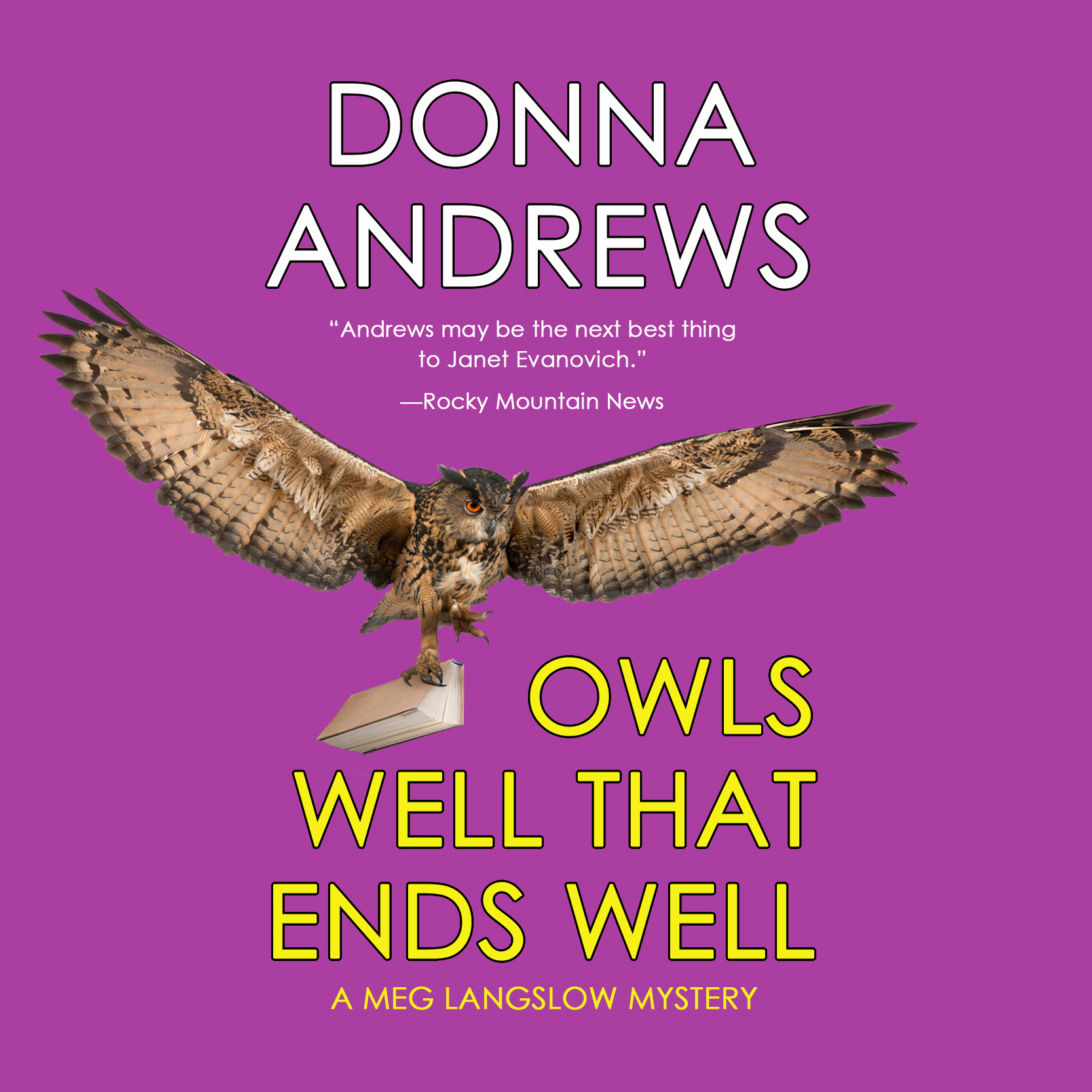 Printable Owls Well That Ends Well Audiobook Cover Art