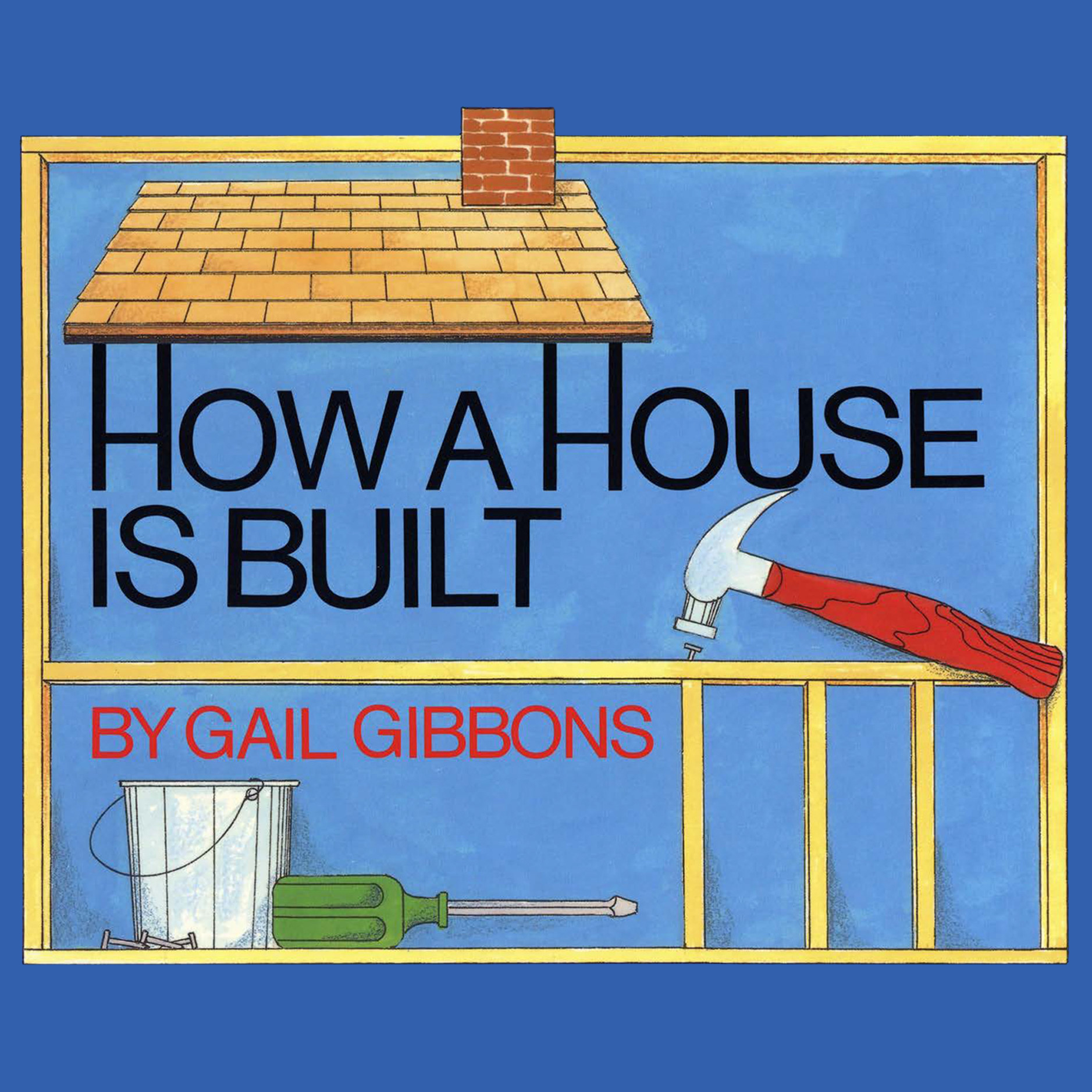 Printable How a House is Built Audiobook Cover Art