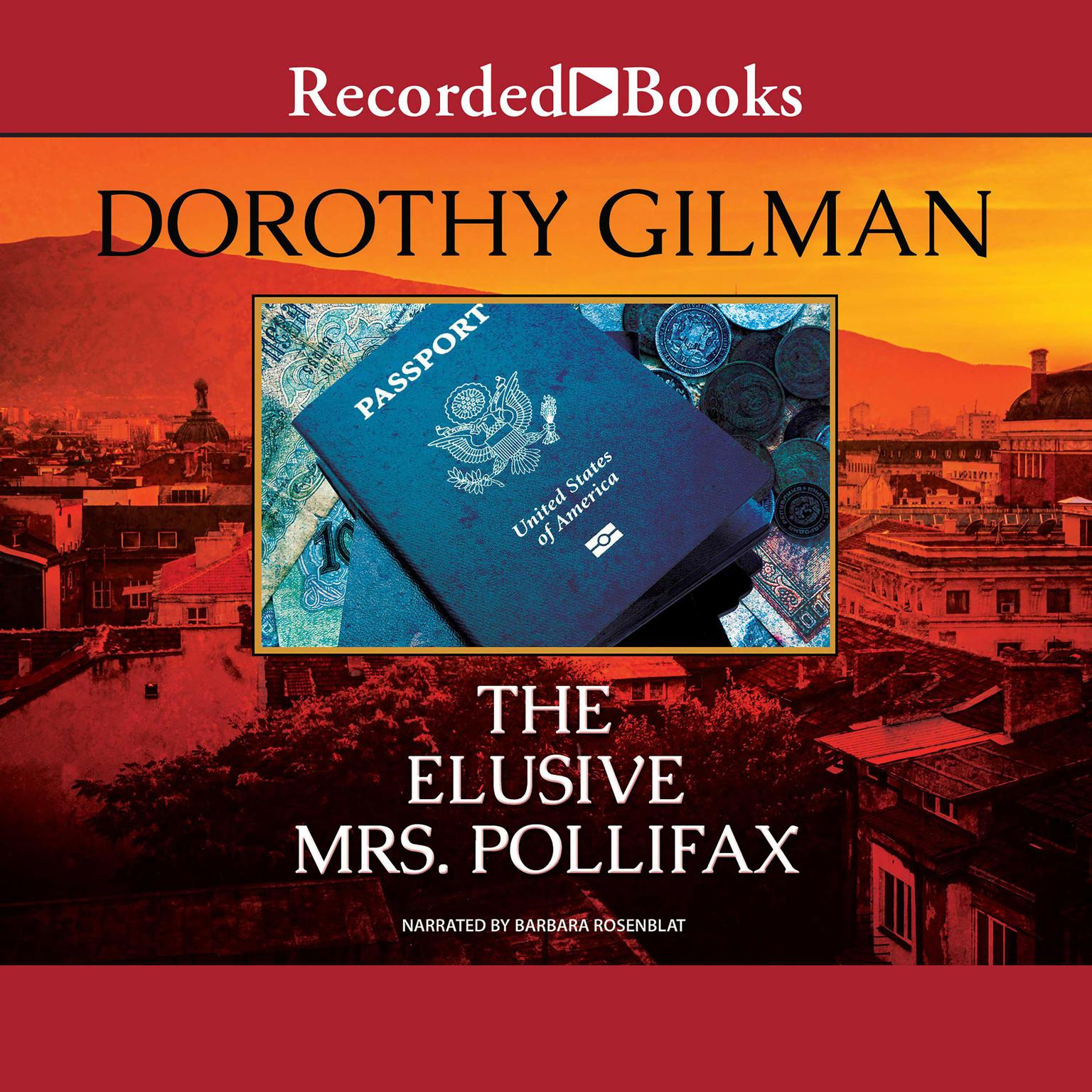 Printable The Elusive Mrs. Pollifax Audiobook Cover Art
