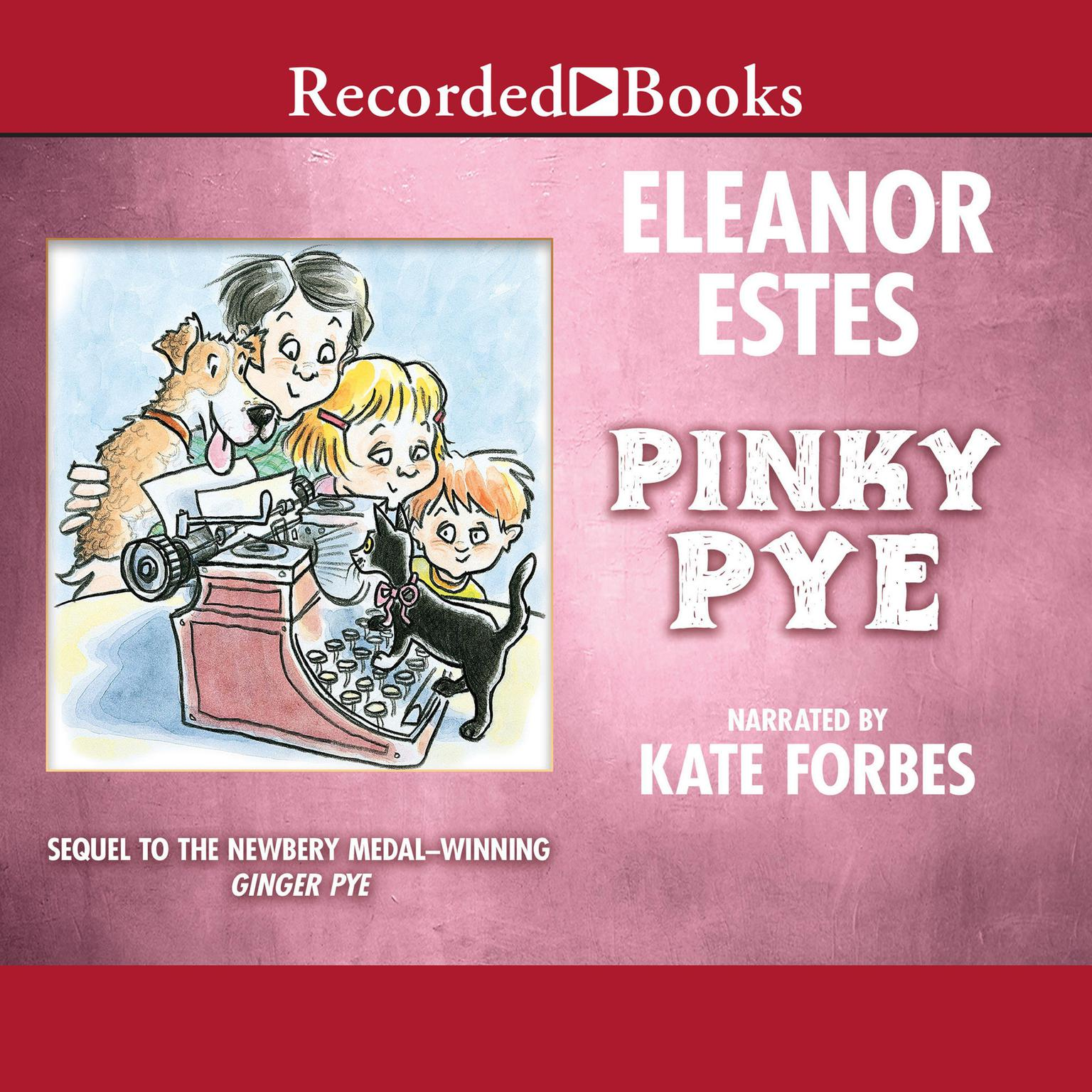 Printable Pinky Pye Audiobook Cover Art