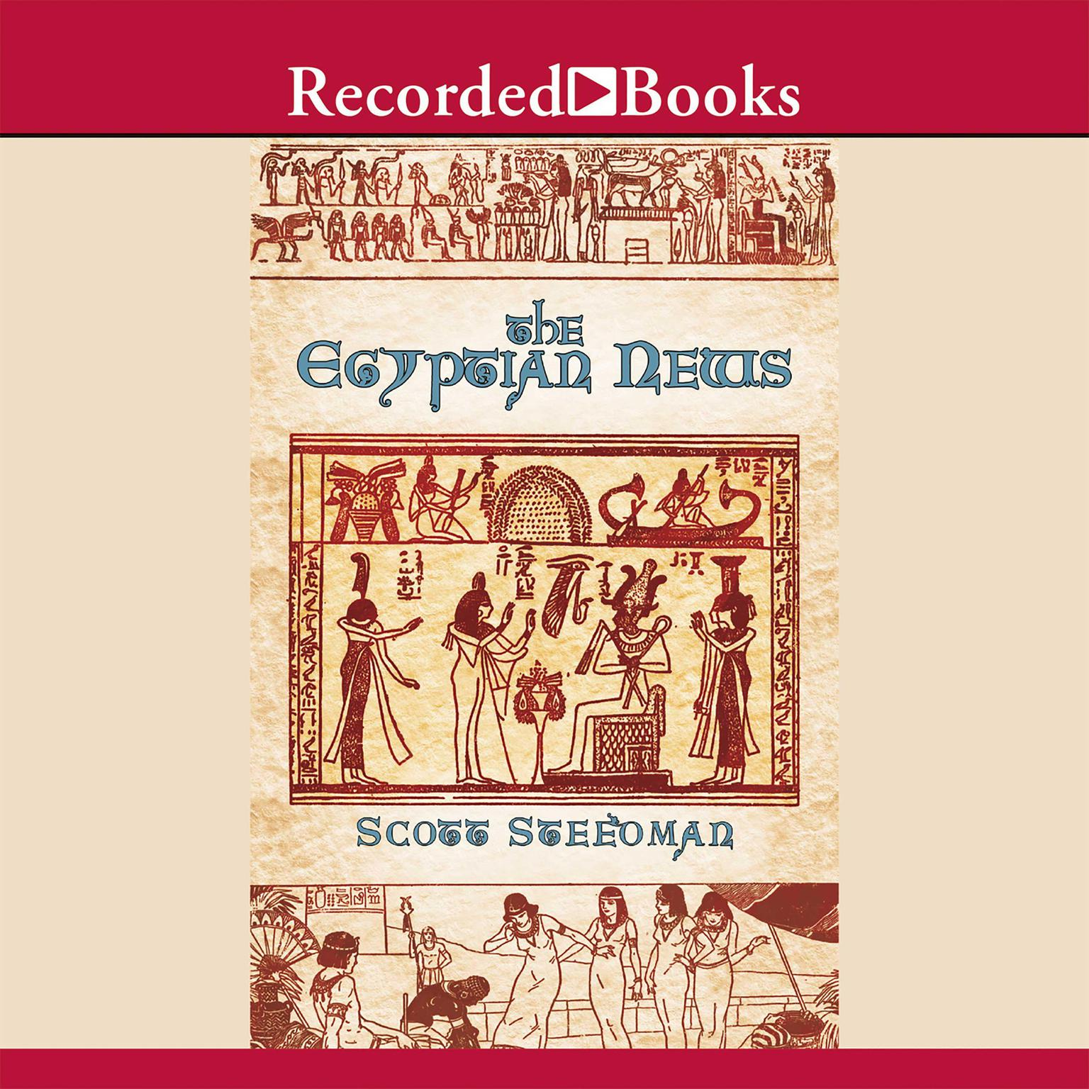 Printable The Egyptian News Audiobook Cover Art