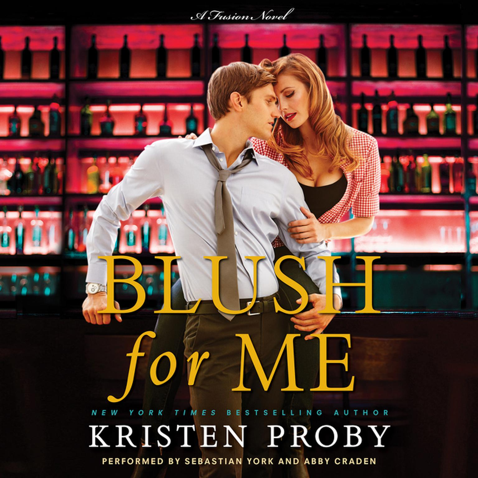 Printable Blush for Me: A Fusion Novel Audiobook Cover Art