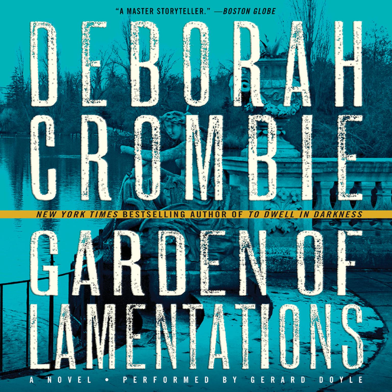Printable Garden of Lamentations: A Novel Audiobook Cover Art