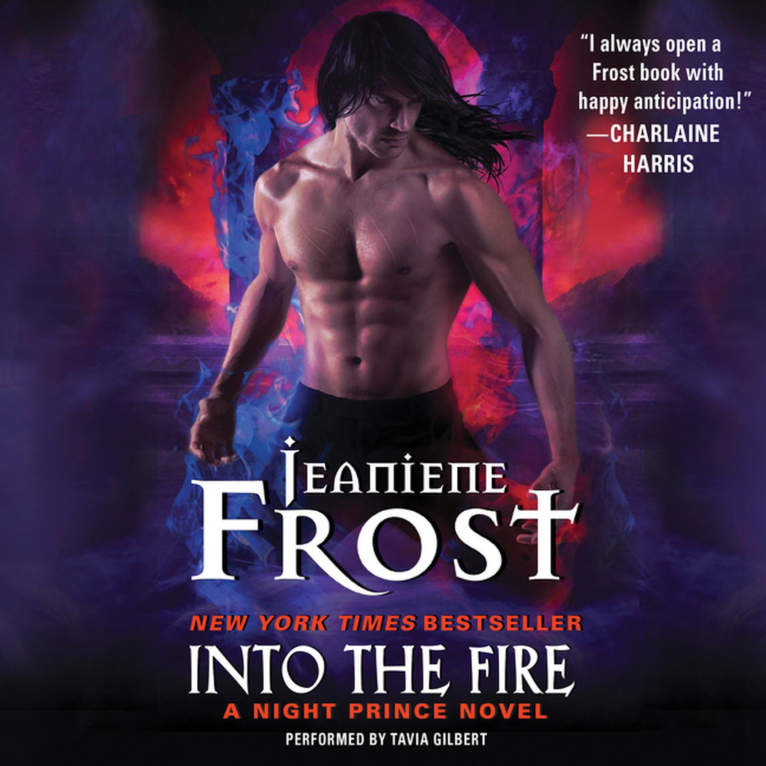 Printable Into the Fire: A Night Prince Novel Audiobook Cover Art