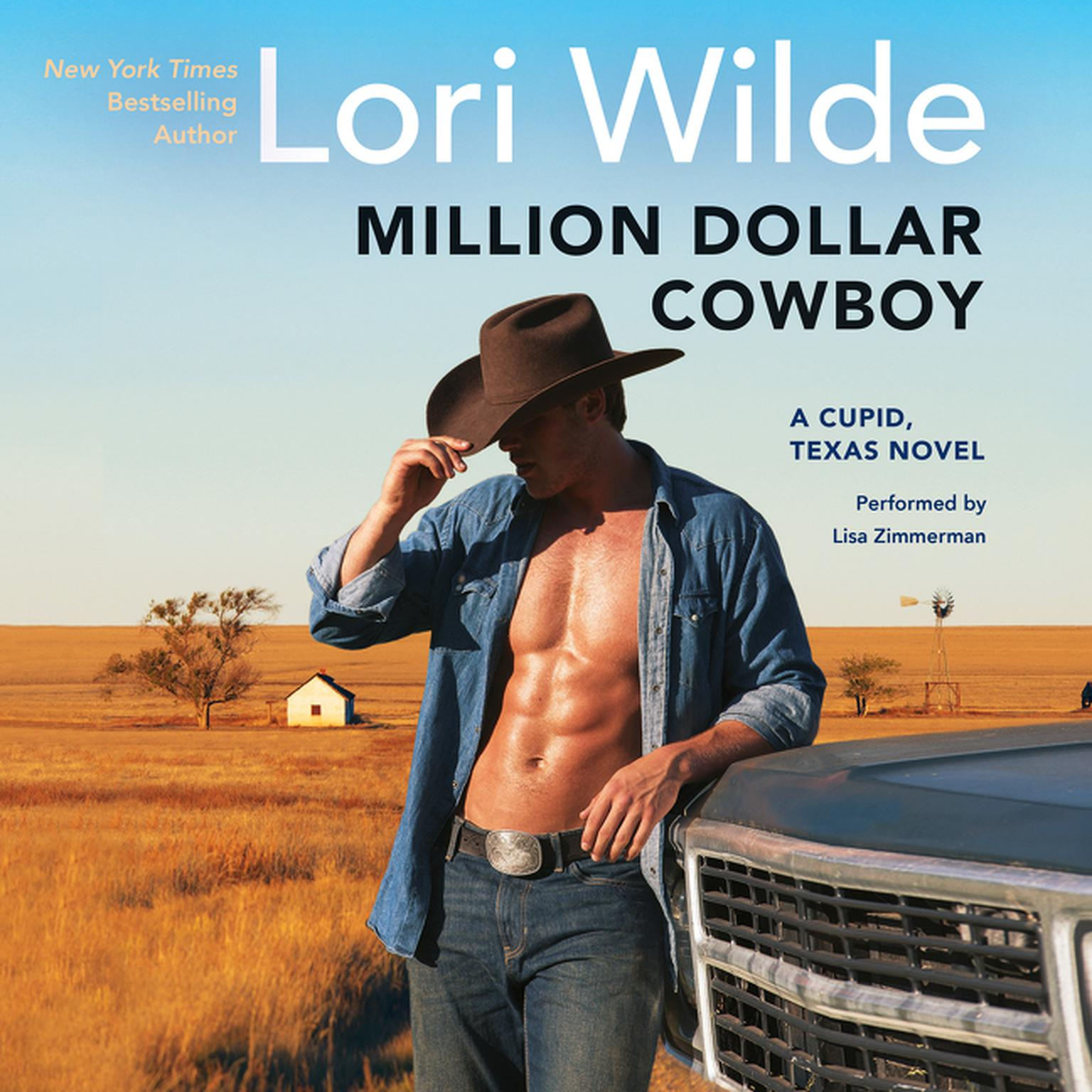 Printable Million Dollar Cowboy: A Cupid, Texas Novel Audiobook Cover Art