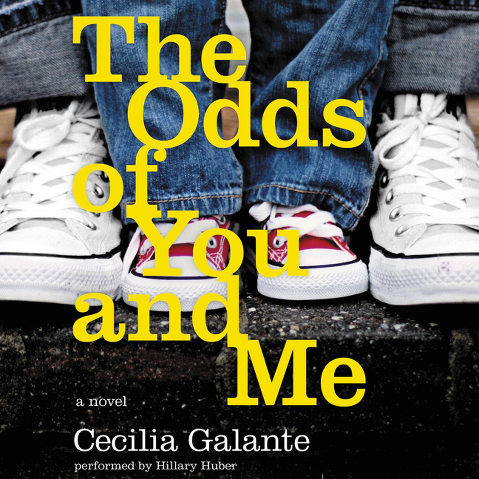 Printable The Odds of You and Me: A Novel Audiobook Cover Art