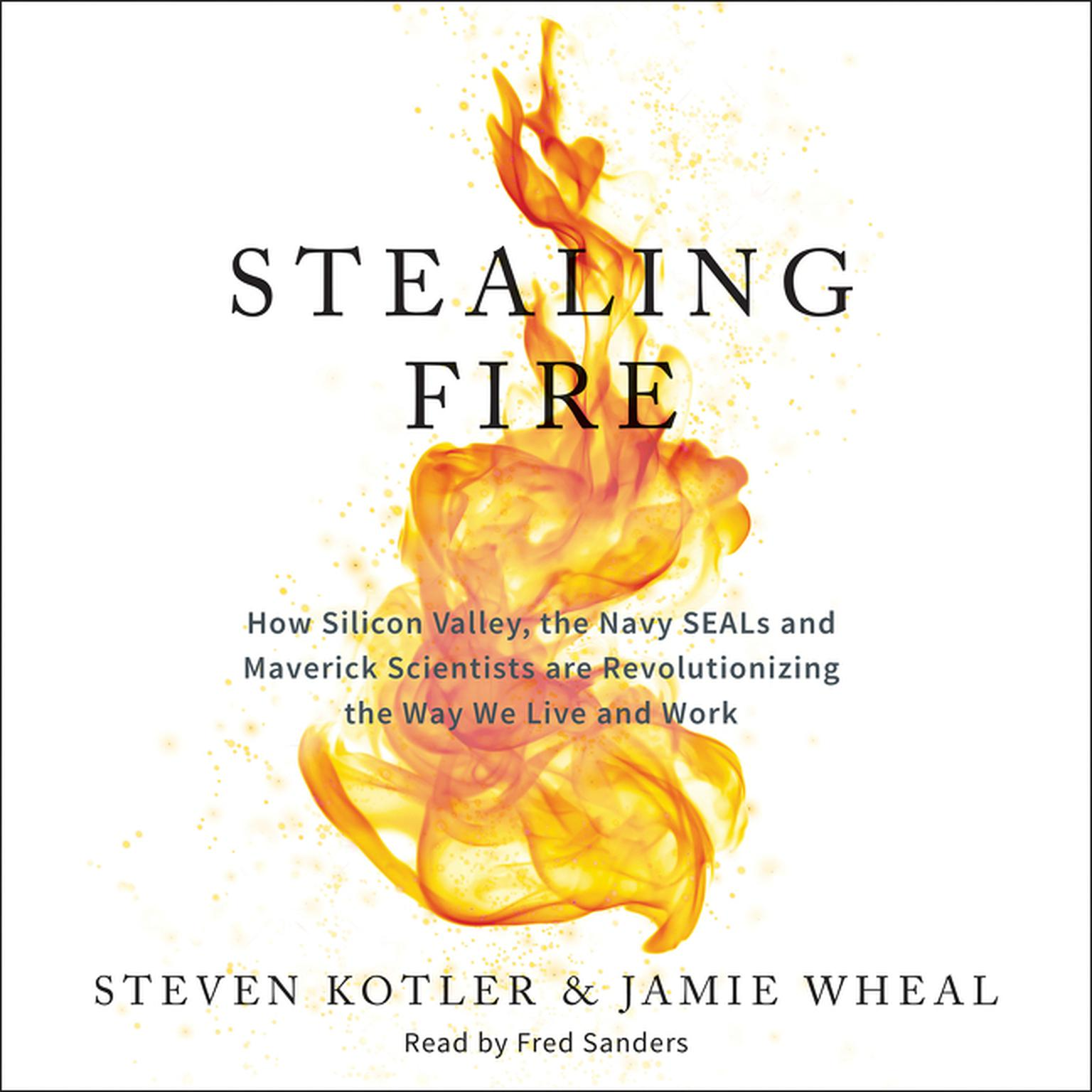 Printable Stealing Fire: How Silicon Valley, the Navy SEALs, and Maverick Scientists Are Revolutionizing the Way We Live and Work Audiobook Cover Art