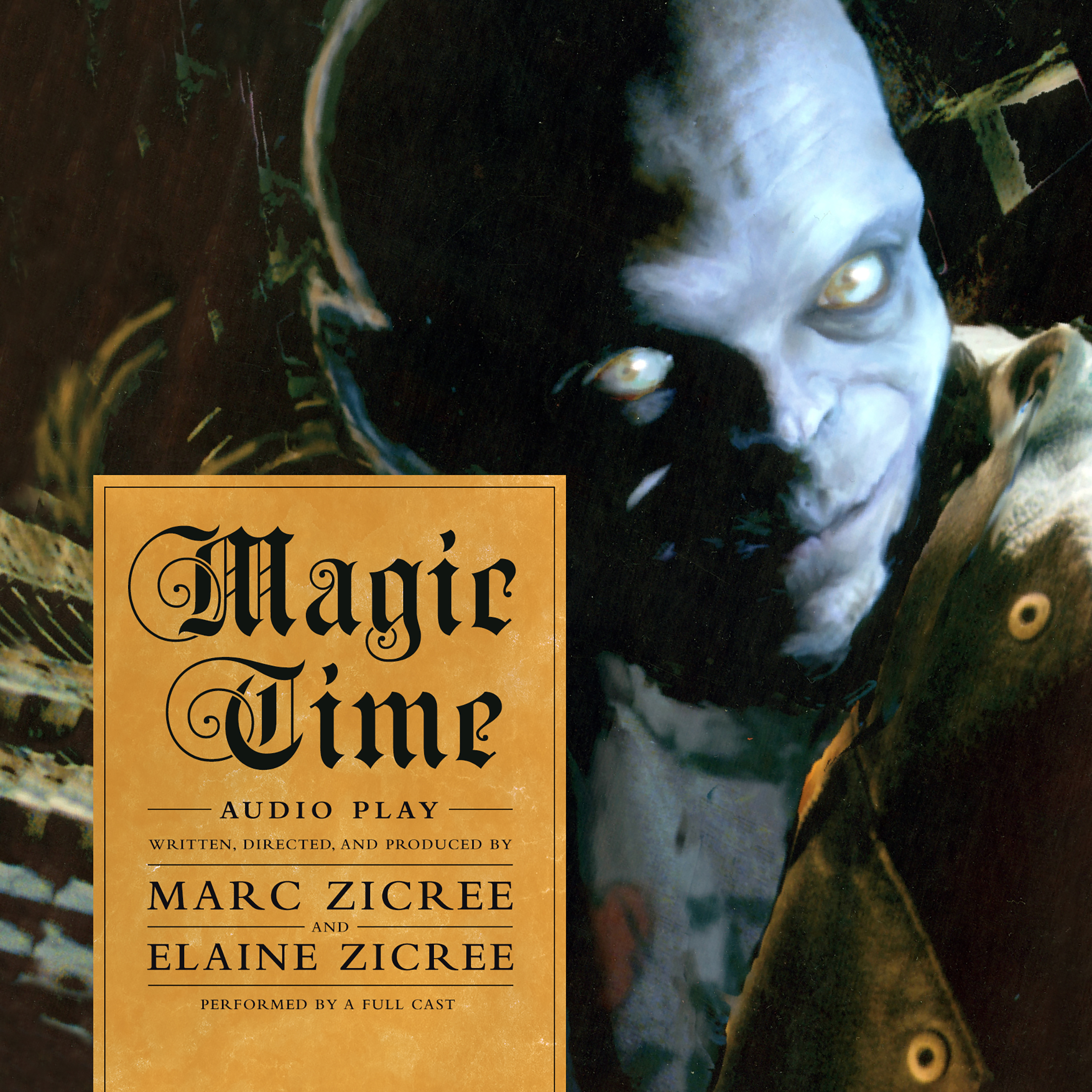 Printable Magic Time : Audio Play Audiobook Cover Art