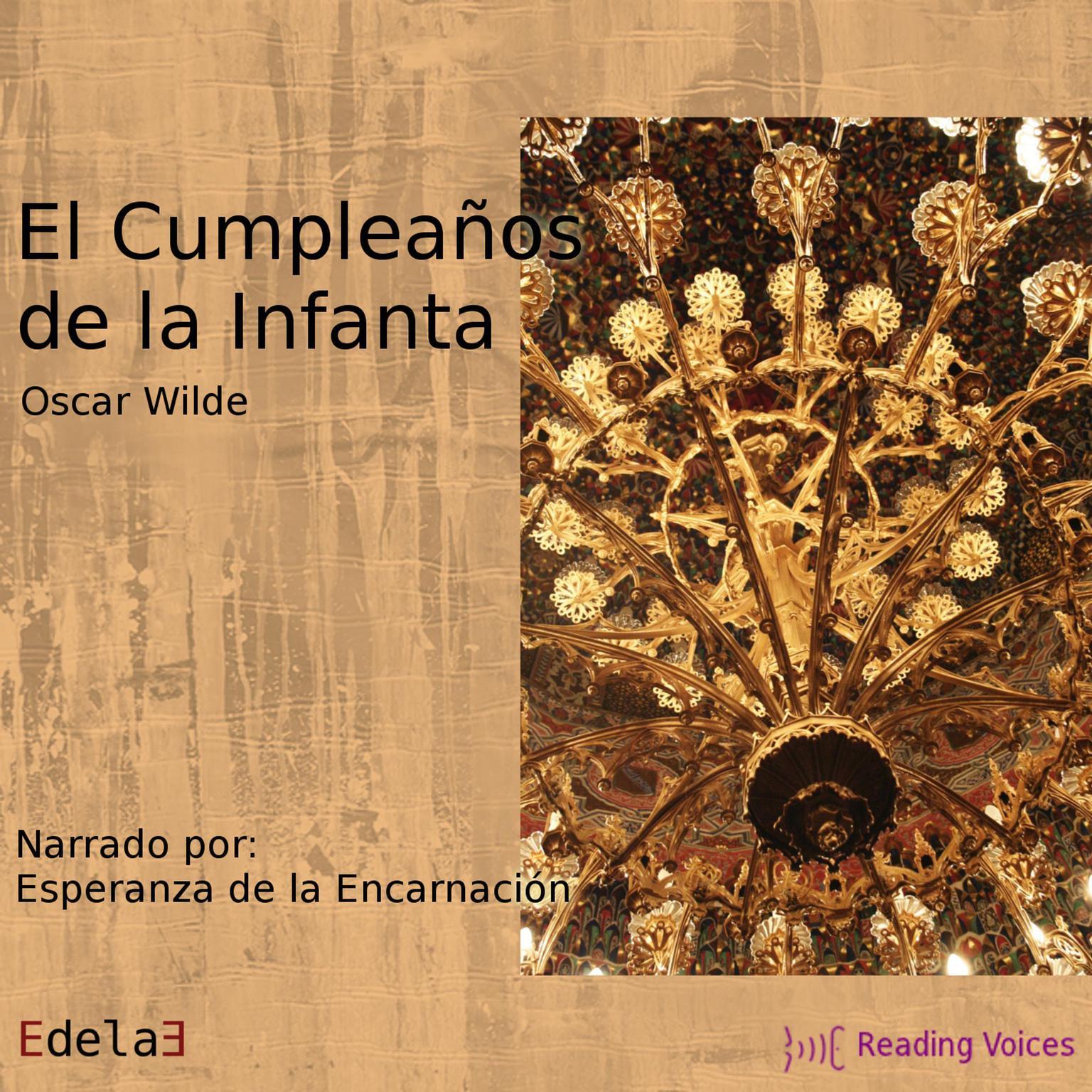 Printable El cumpleaños de la Infanta Audiobook Cover Art