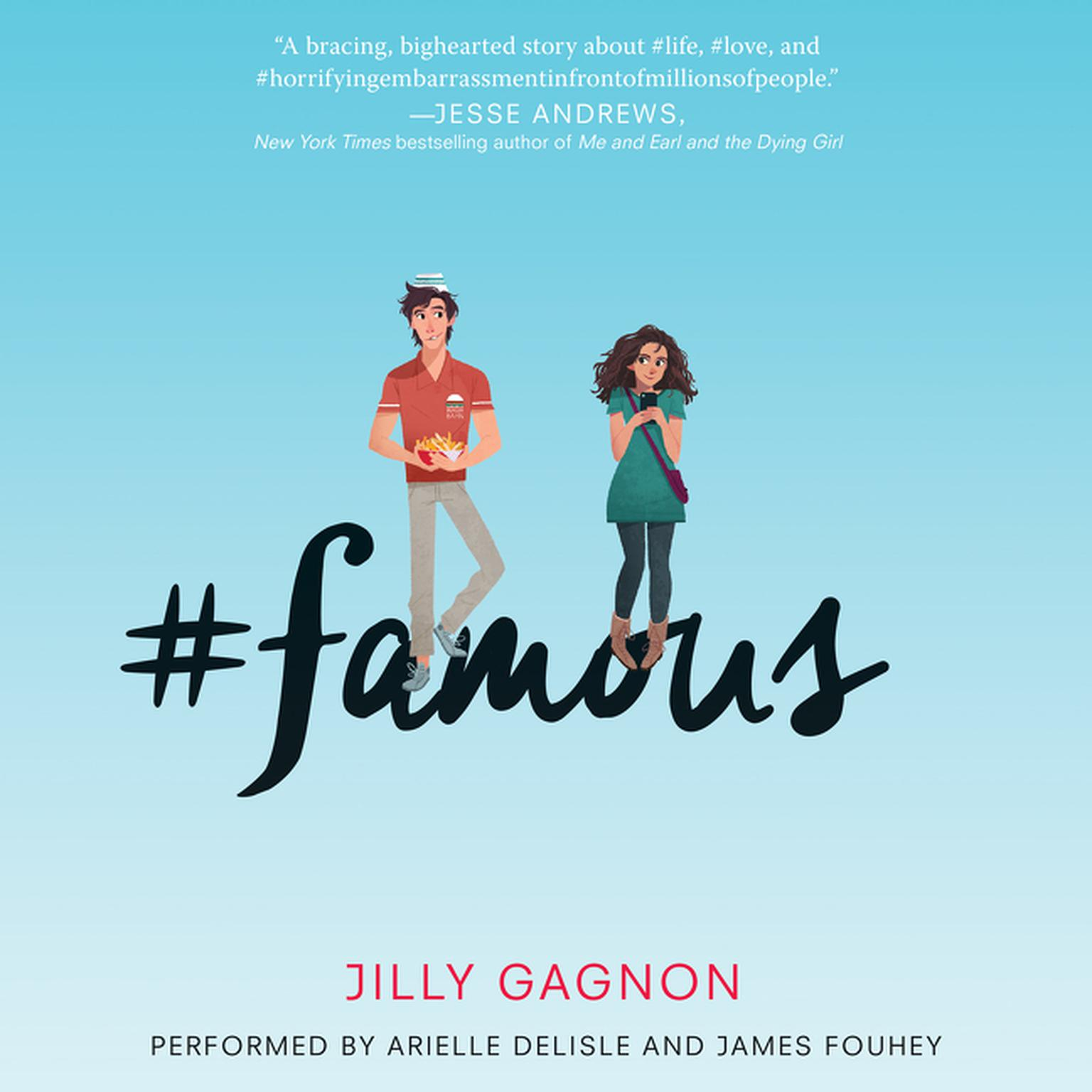 Printable #famous Audiobook Cover Art
