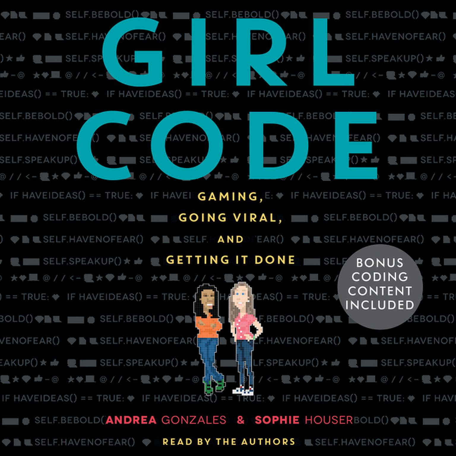Printable Girl Code Audiobook Cover Art