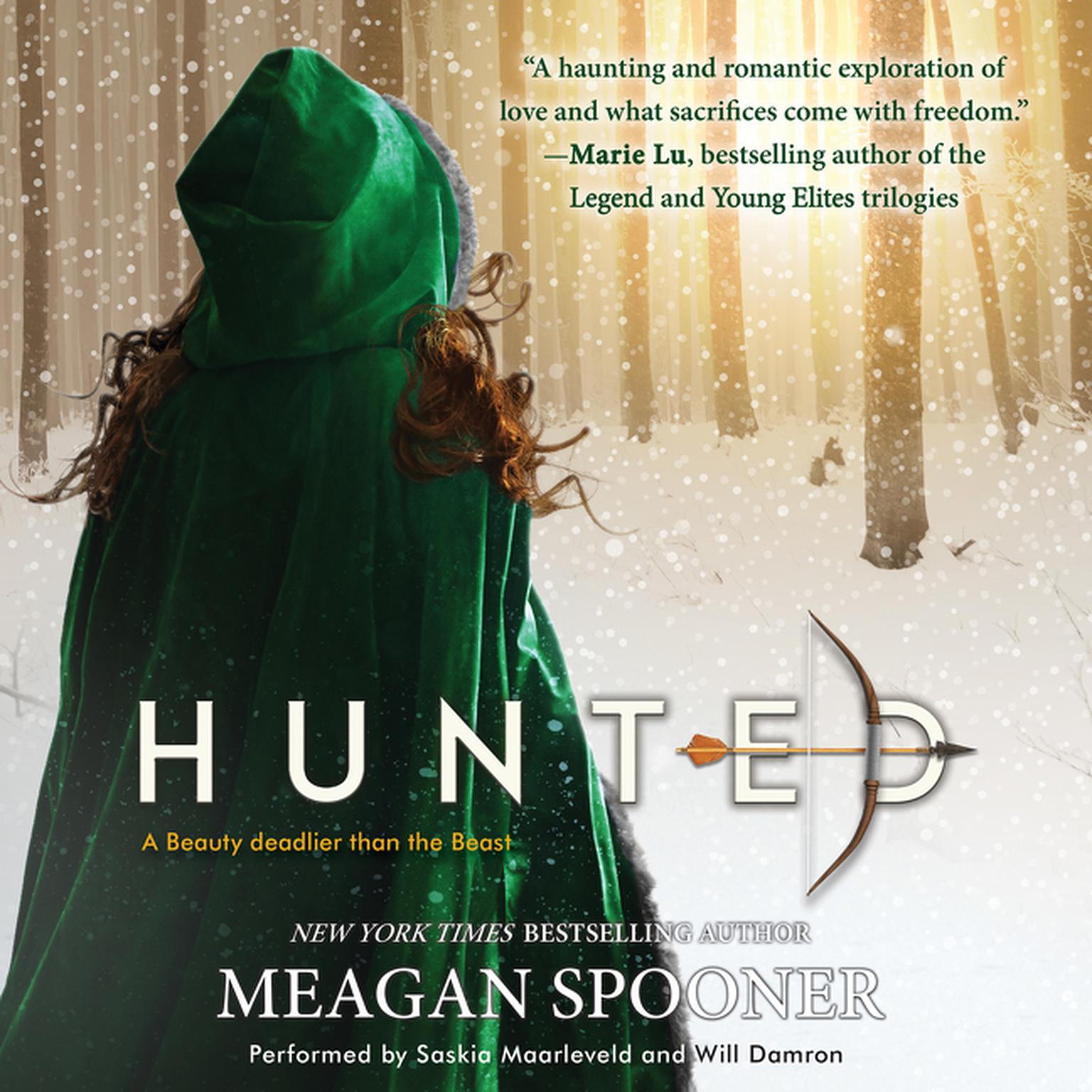 Printable Hunted Audiobook Cover Art
