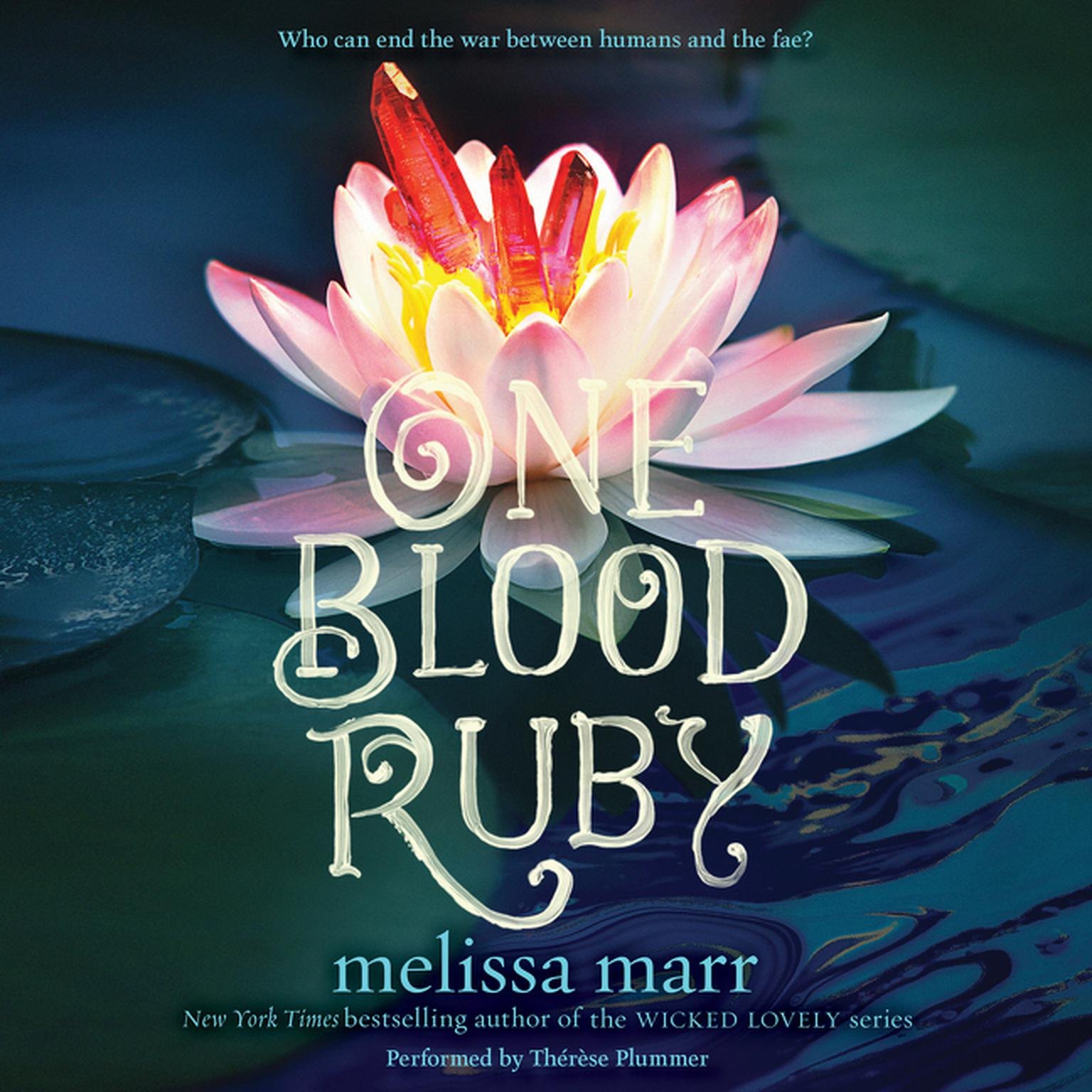 Printable One Blood Ruby Audiobook Cover Art
