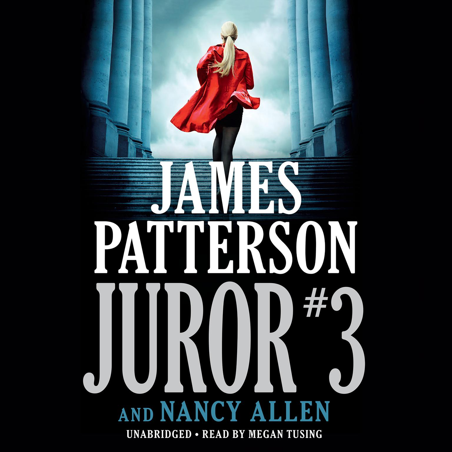Printable Juror #3 Audiobook Cover Art