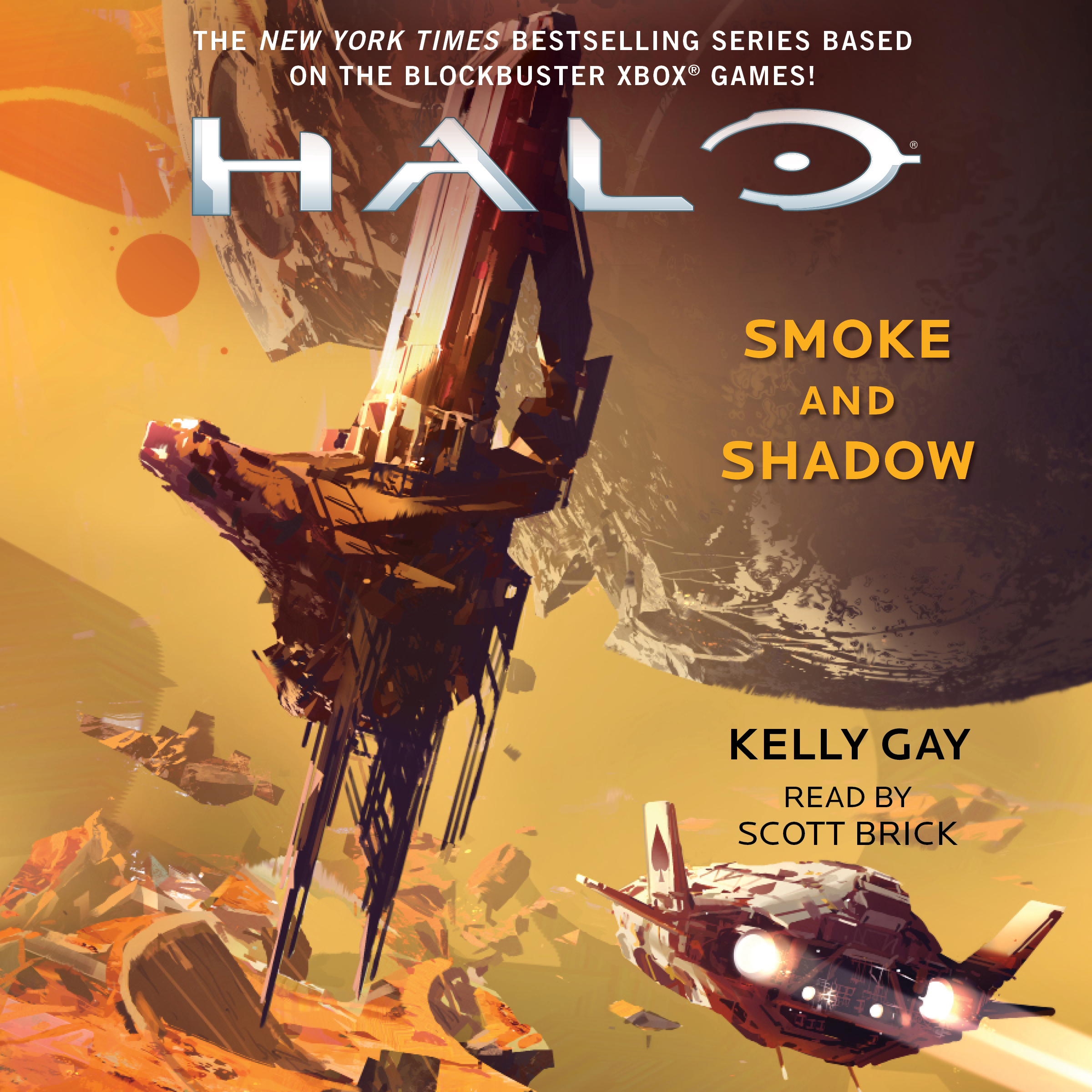 Printable HALO: Smoke and Shadow Audiobook Cover Art