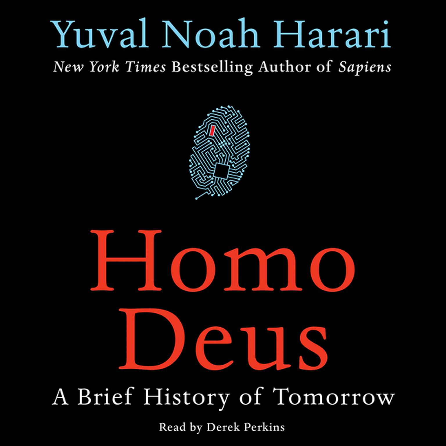 Printable Homo Deus: A Brief History of Tomorrow Audiobook Cover Art