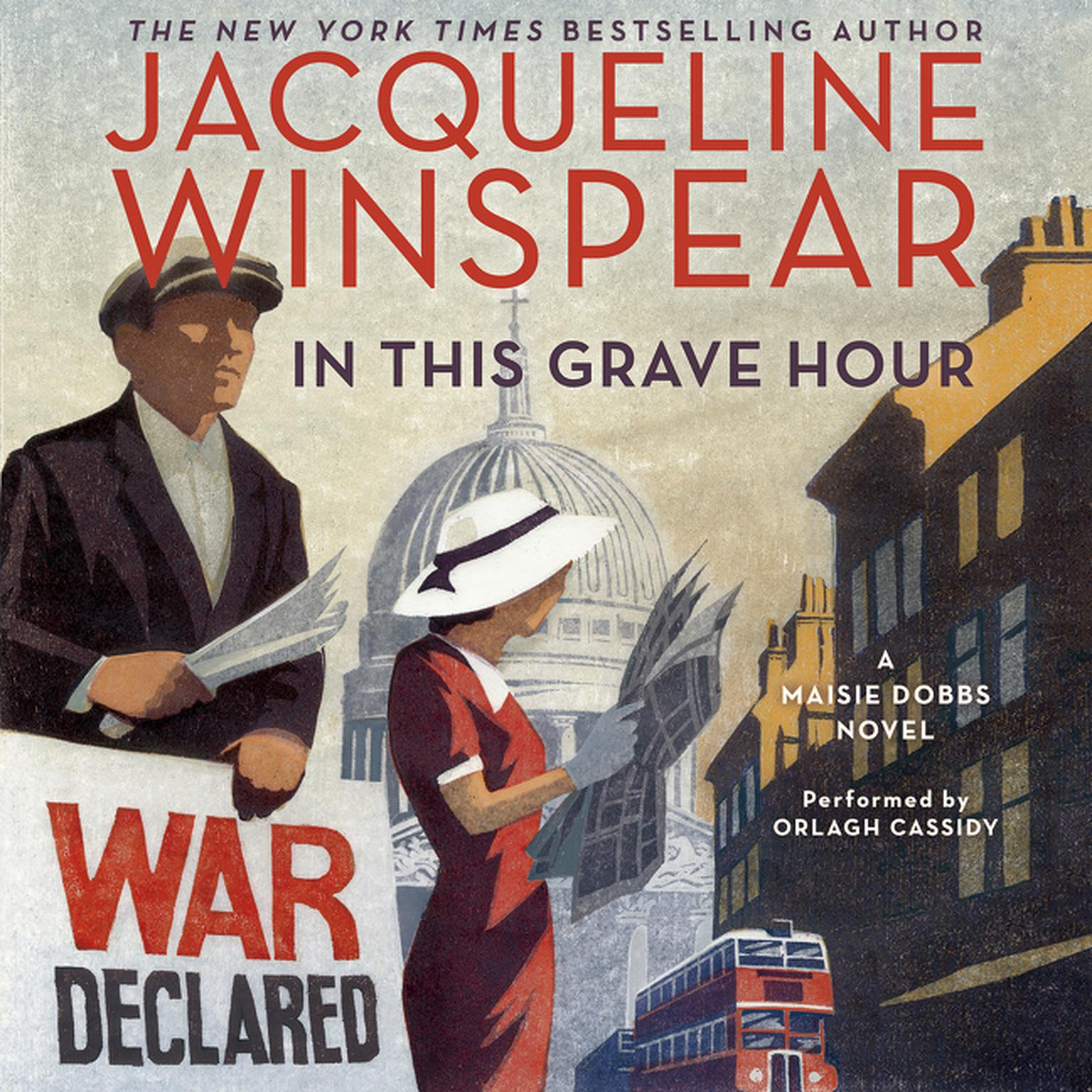 Printable In This Grave Hour: A Maisie Dobbs Novel Audiobook Cover Art