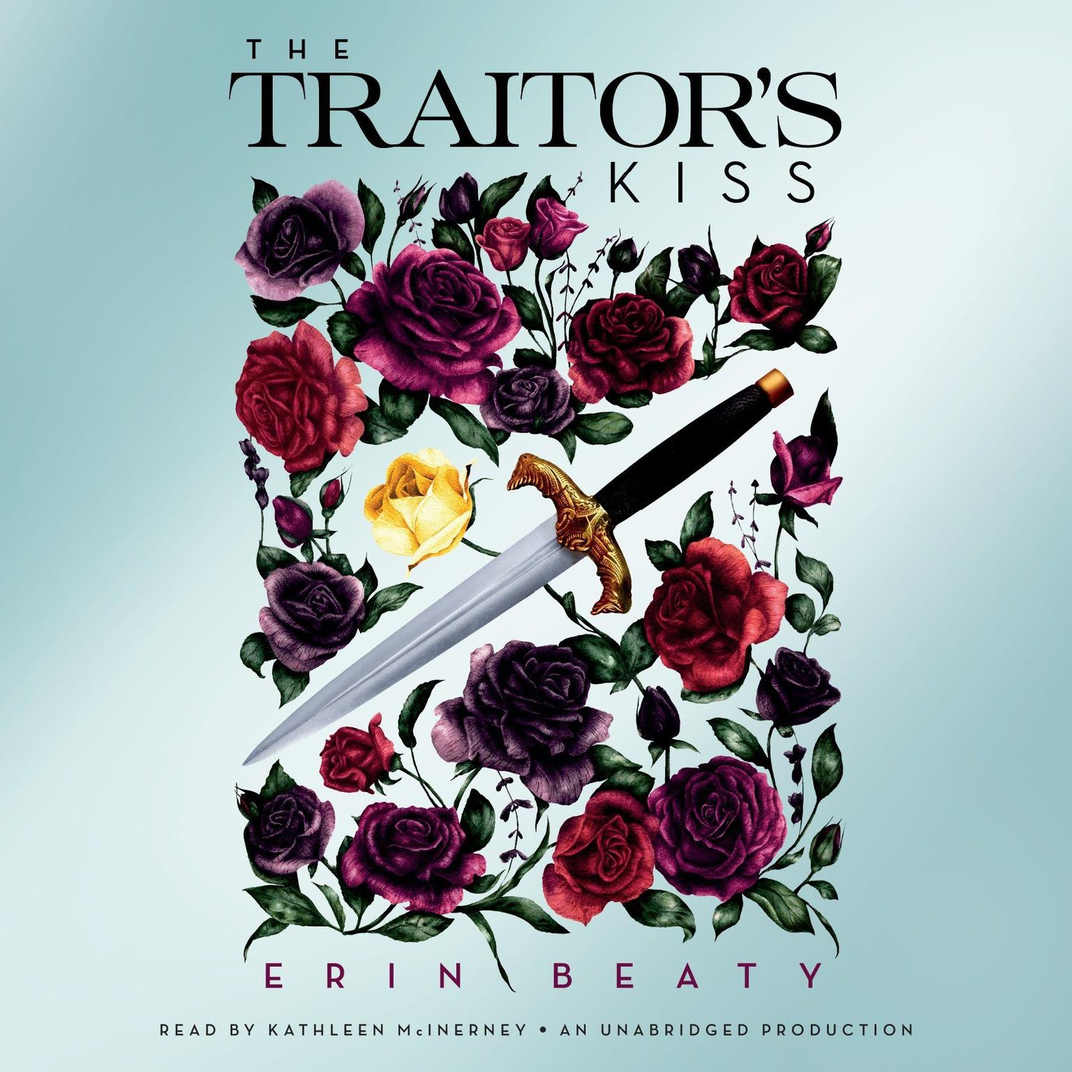Printable The Traitor's Kiss Audiobook Cover Art