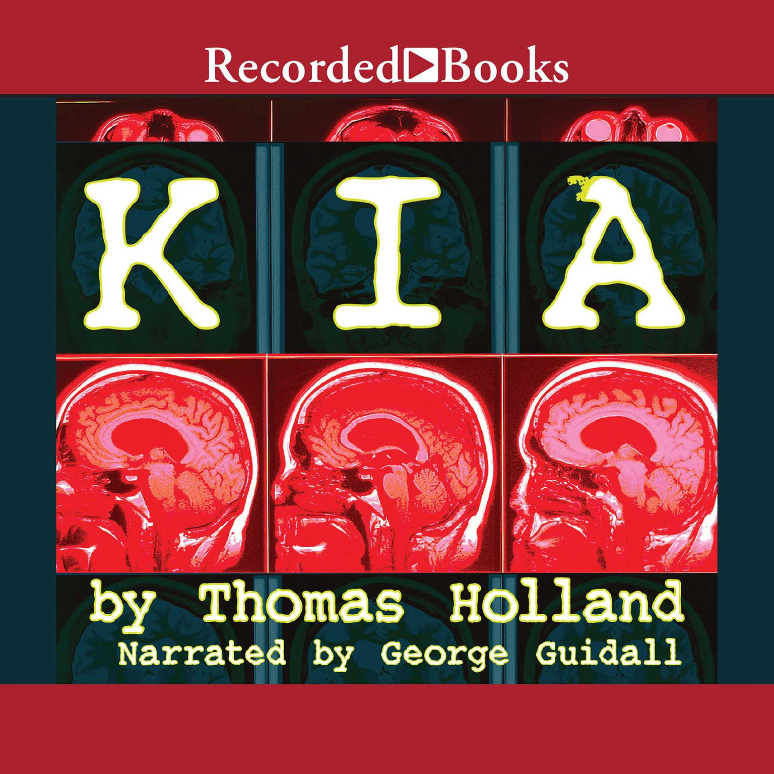Printable K.I.A. Audiobook Cover Art