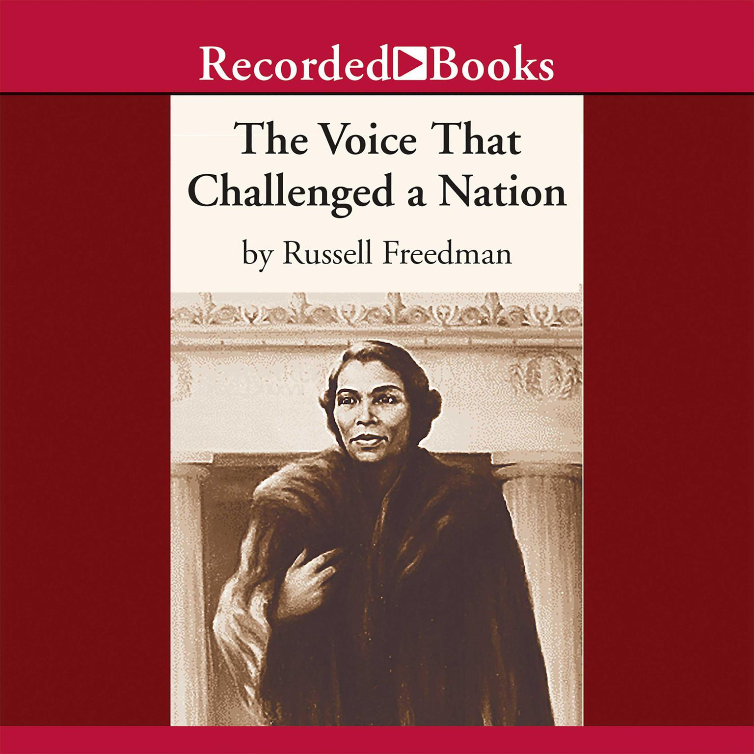 Printable The Voice that Challenged a Nation: Marian Anderson and the Struggle for Equal Rights Audiobook Cover Art