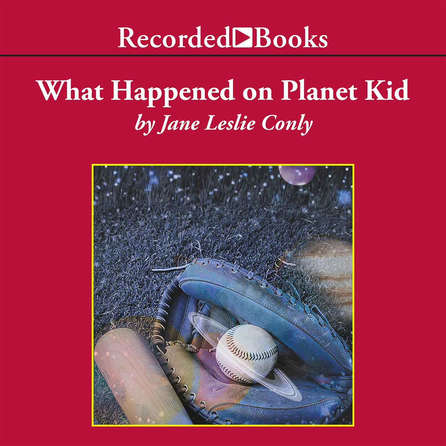 Printable What Happened on Planet Kid Audiobook Cover Art