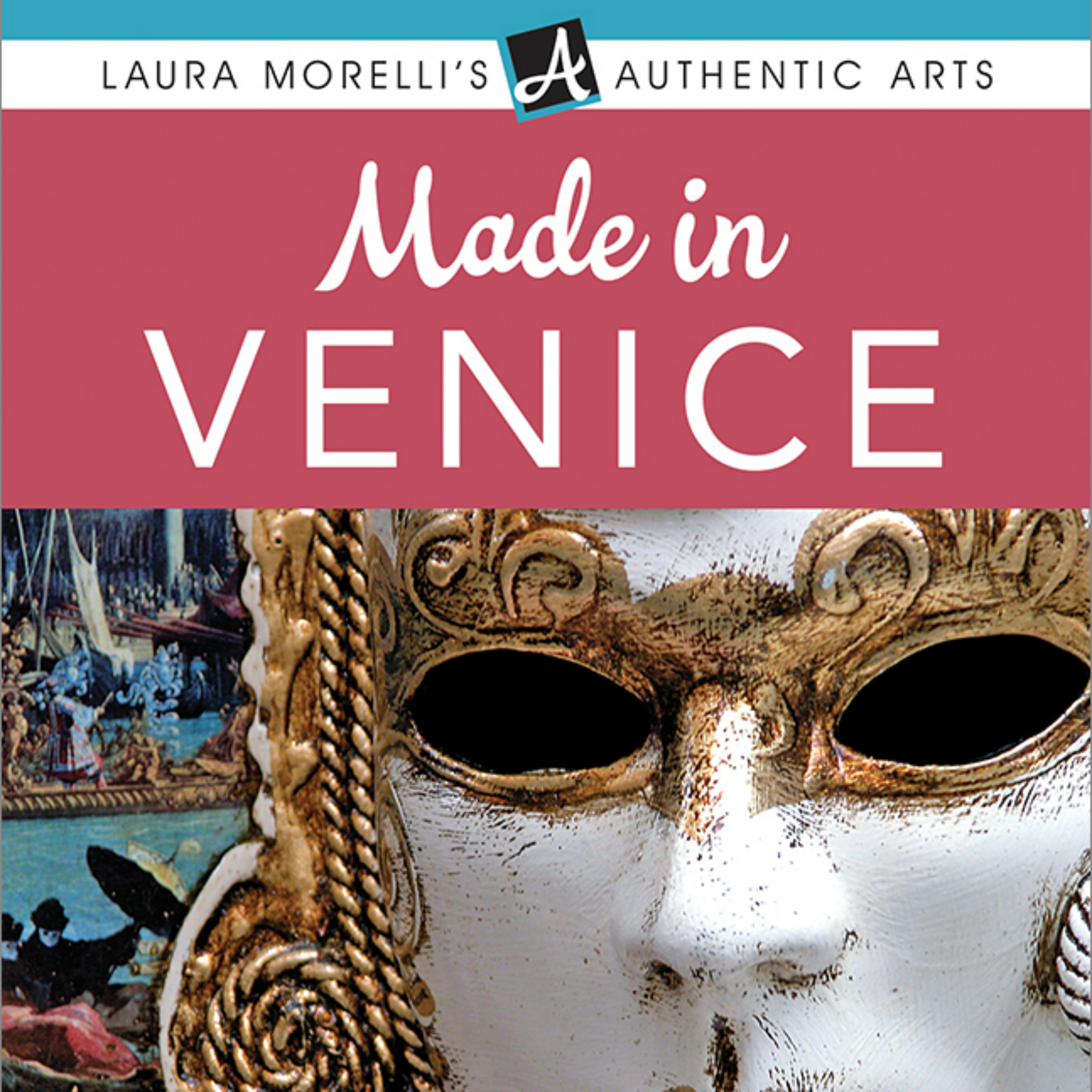 Printable Made in Venice Audiobook Cover Art