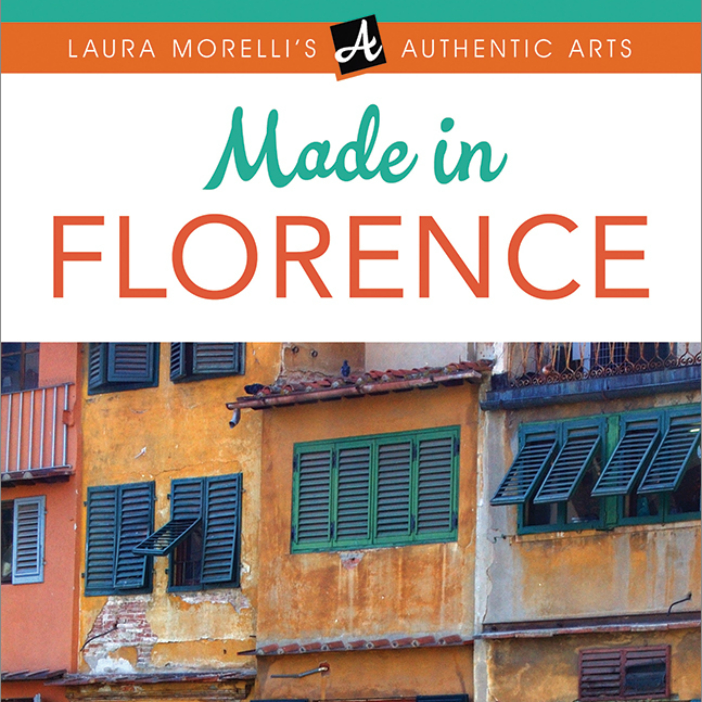 Printable Made in Florence Audiobook Cover Art