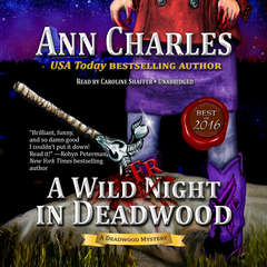 A Wild Fright in Deadwood Audiobook, by Ann Charles