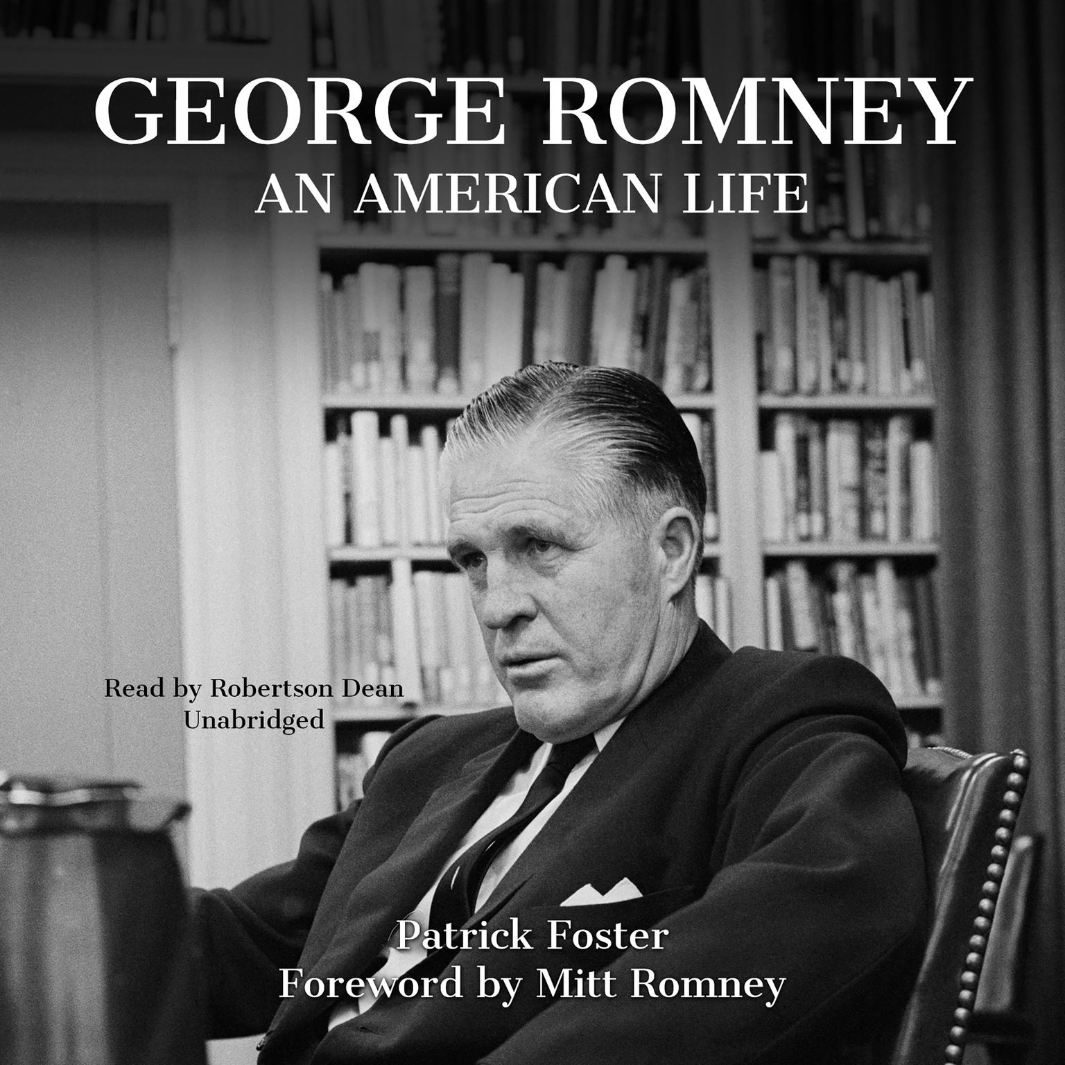 Printable George Romney: An American Life Audiobook Cover Art