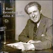 A Rare Recording of John E. Brown Audiobook, by John E. Brown