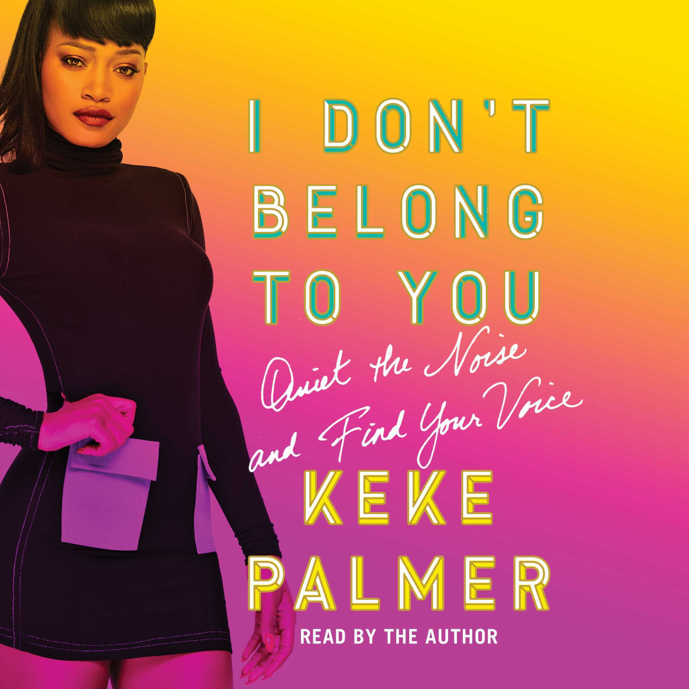 Printable I Don't Belong to You: Quiet the Noise and Find Your Voice Audiobook Cover Art
