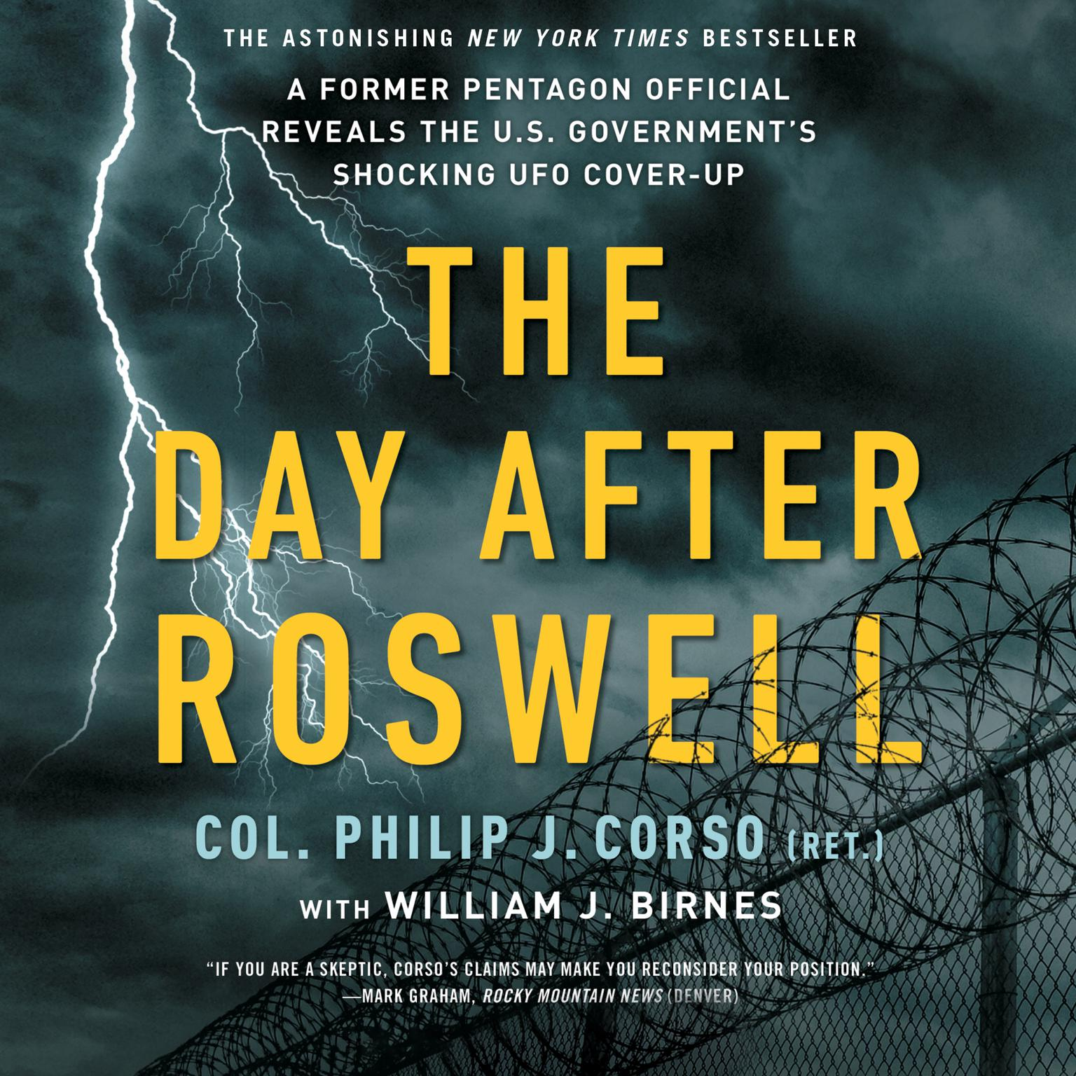 Printable The Day After Roswell Audiobook Cover Art