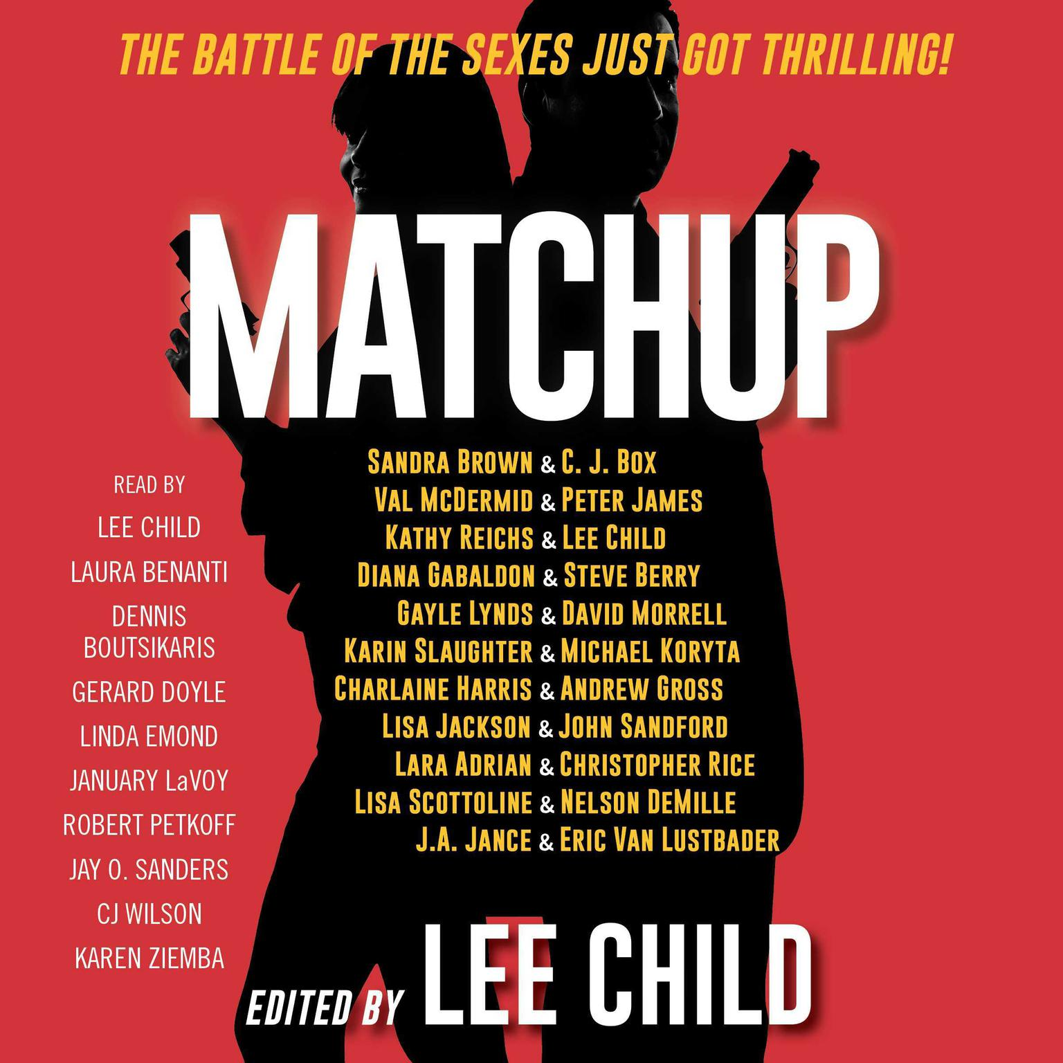 Printable MatchUp Audiobook Cover Art