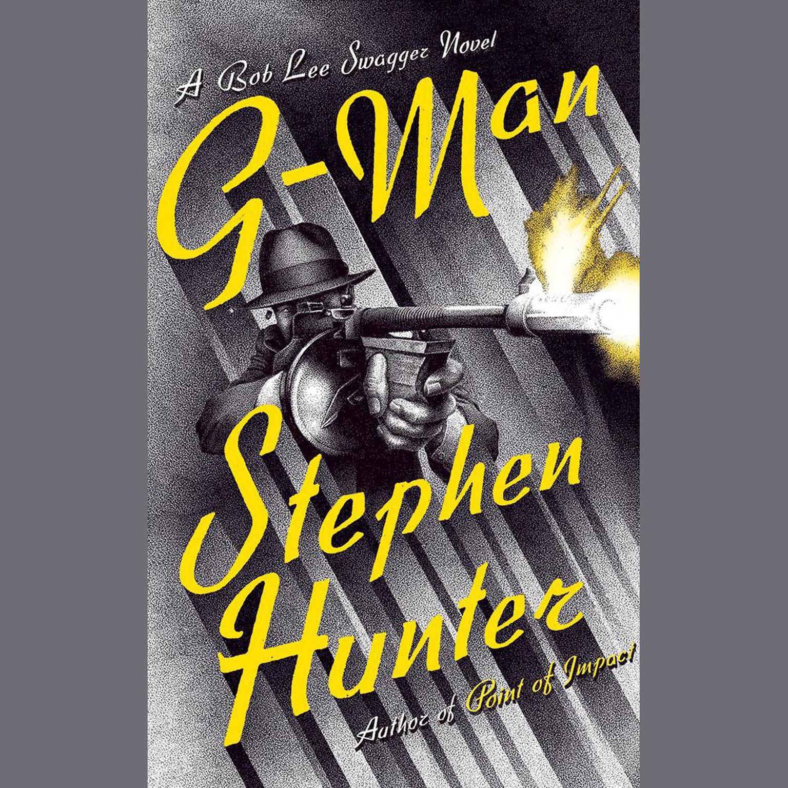 Printable G-Man: A Bob Lee Swagger Novel Audiobook Cover Art